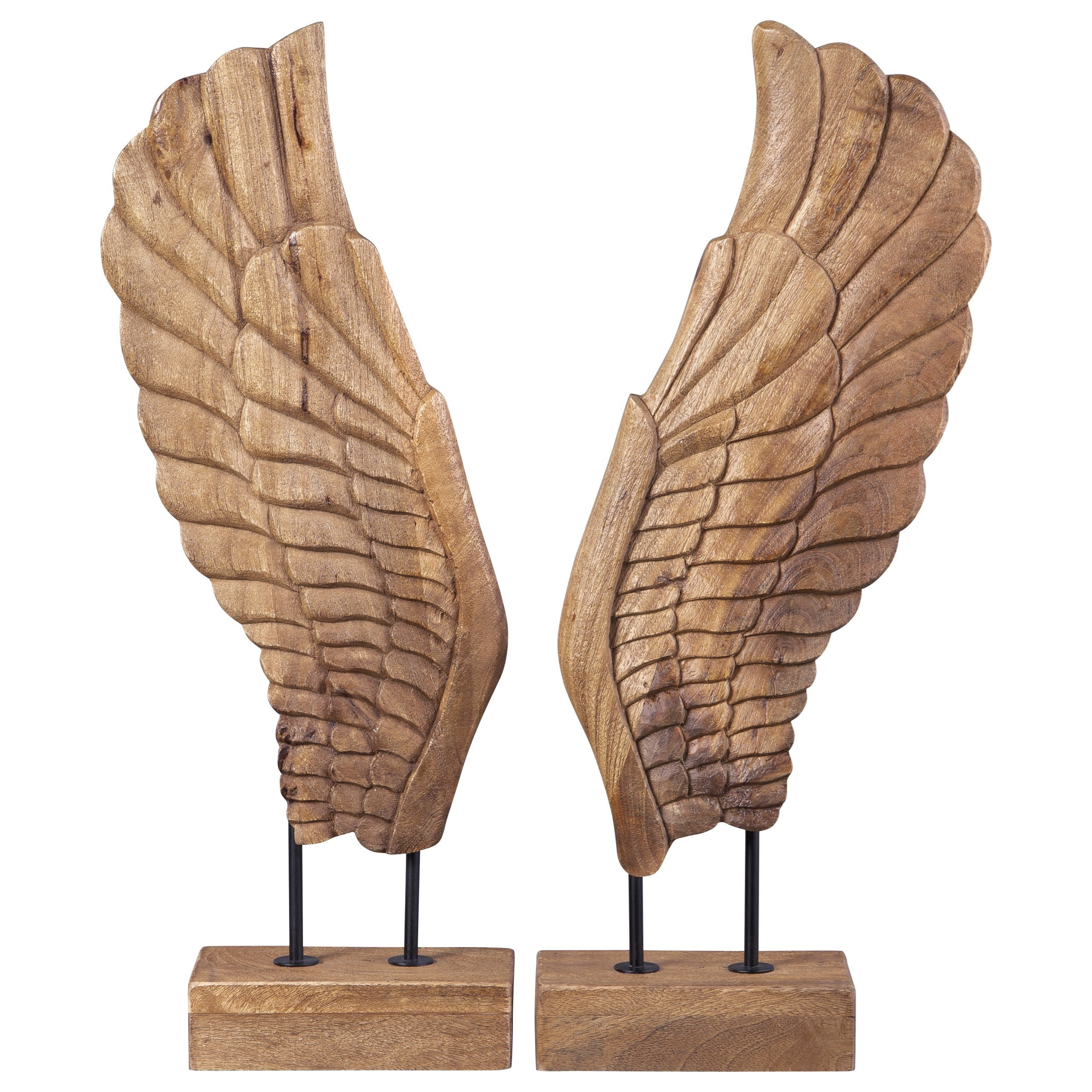 Accents Branden Natural Sculpture Set by Signature Design by Ashley at Carolina Direct