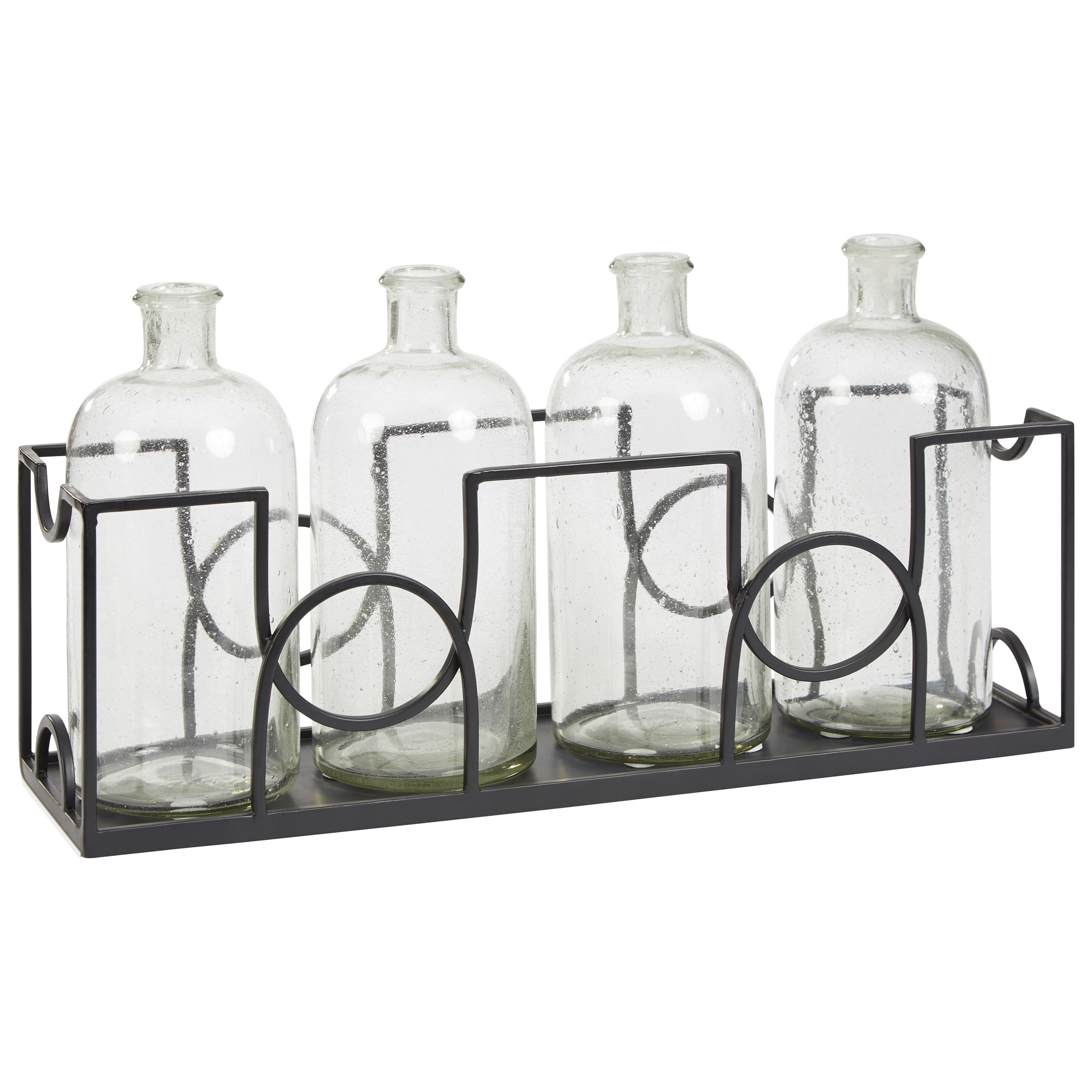 Accents Dmitri Clear/Black Accessory Set by Signature Design by Ashley at Catalog Outlet