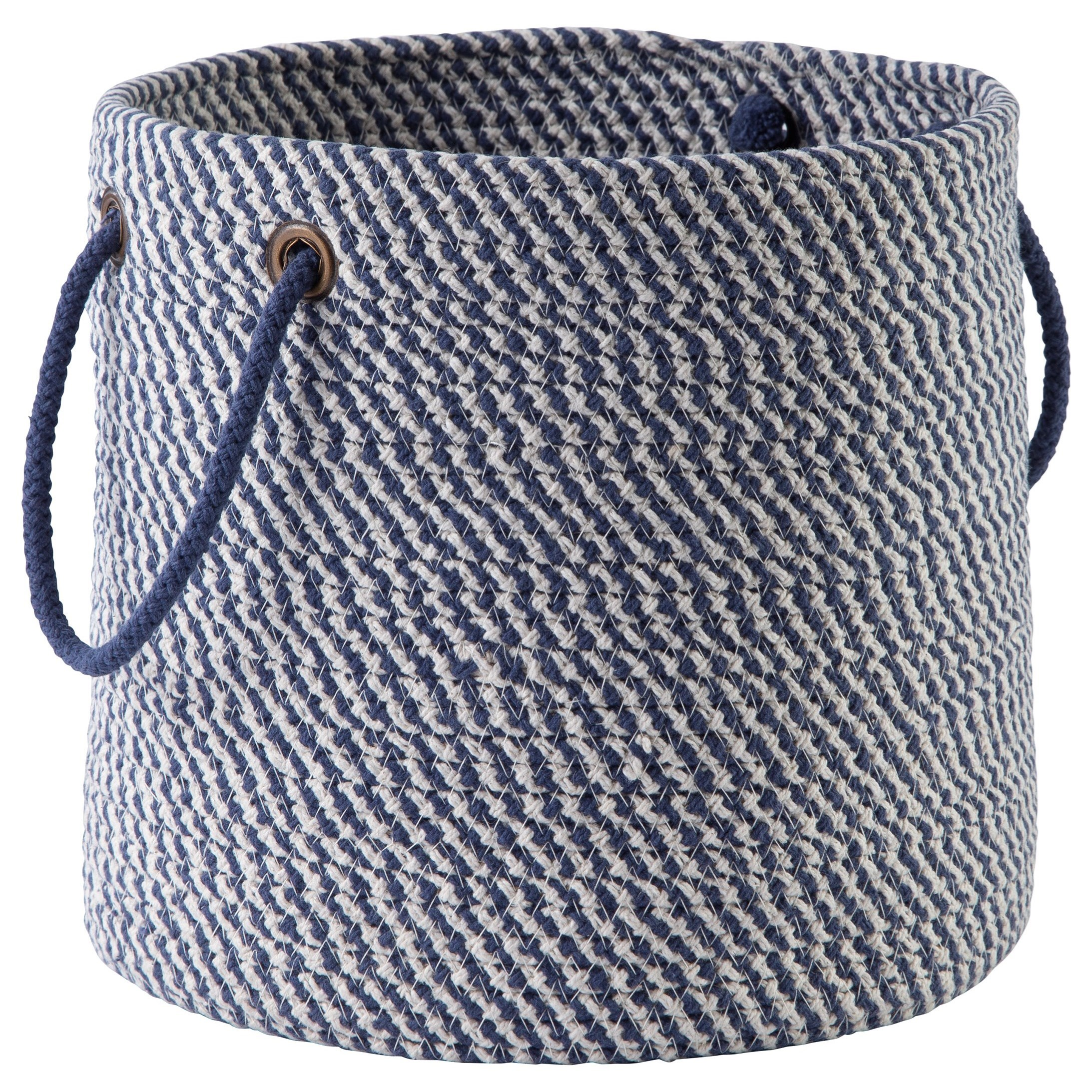 Accents Eider Navy Basket by Ashley (Signature Design) at Johnny Janosik