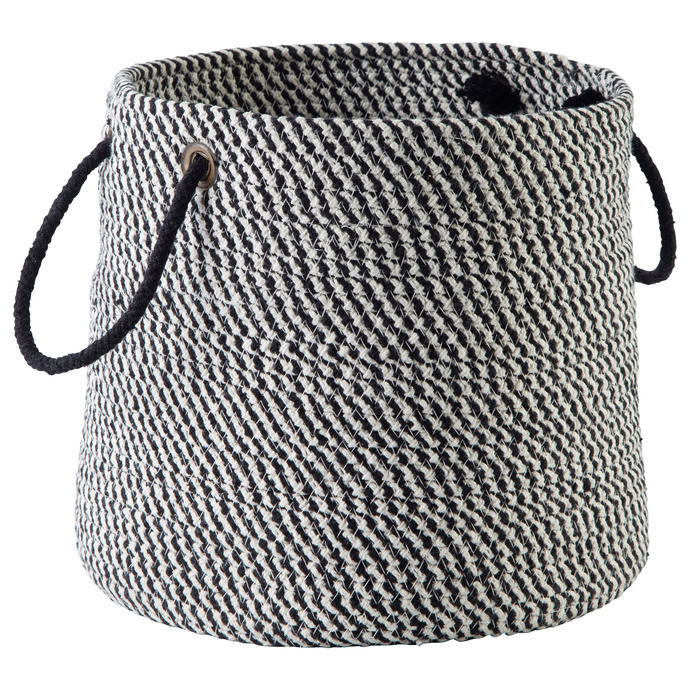 Accents Eider Black Basket by Signature Design by Ashley at Catalog Outlet