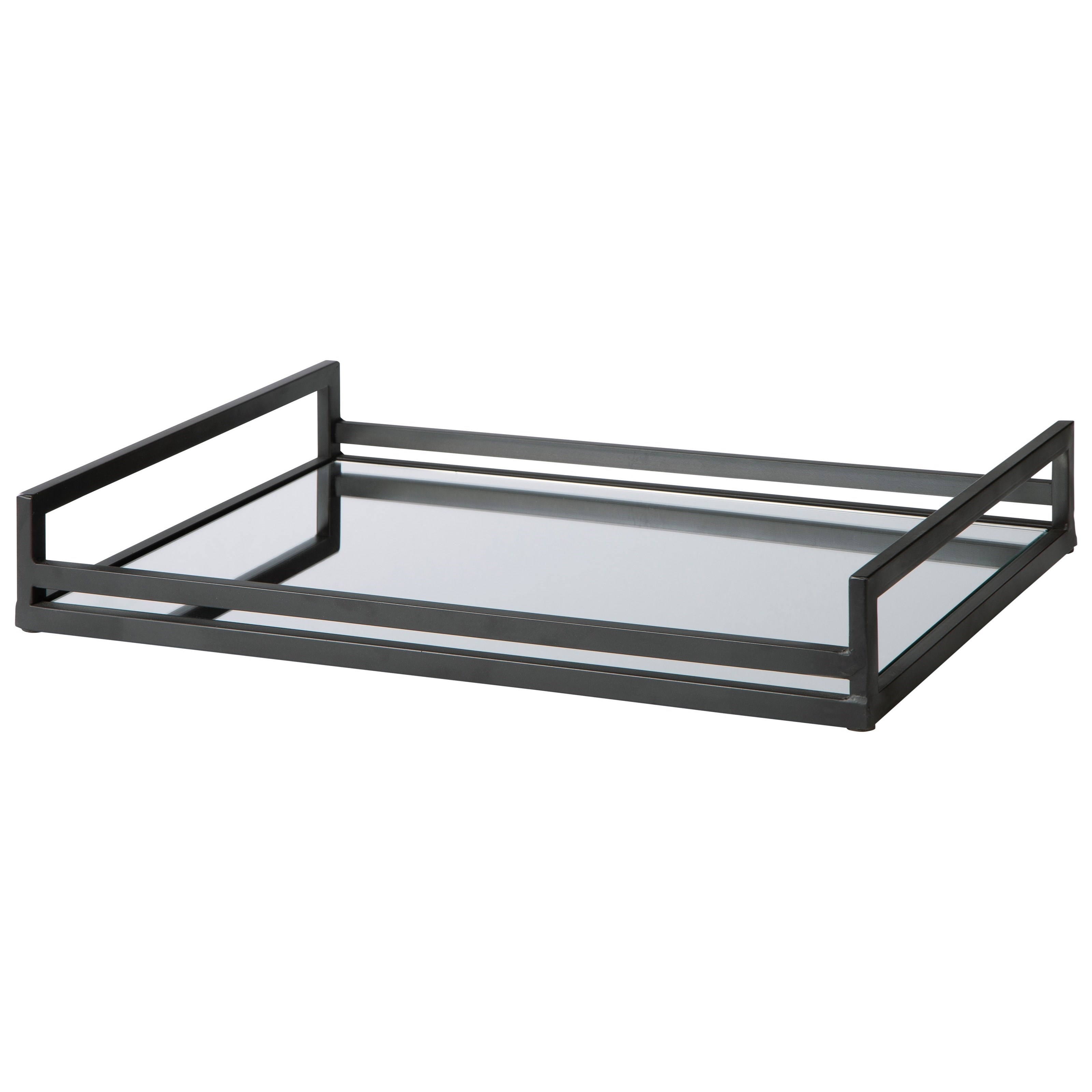 Accents Derex Black Tray by Signature Design by Ashley at Northeast Factory Direct