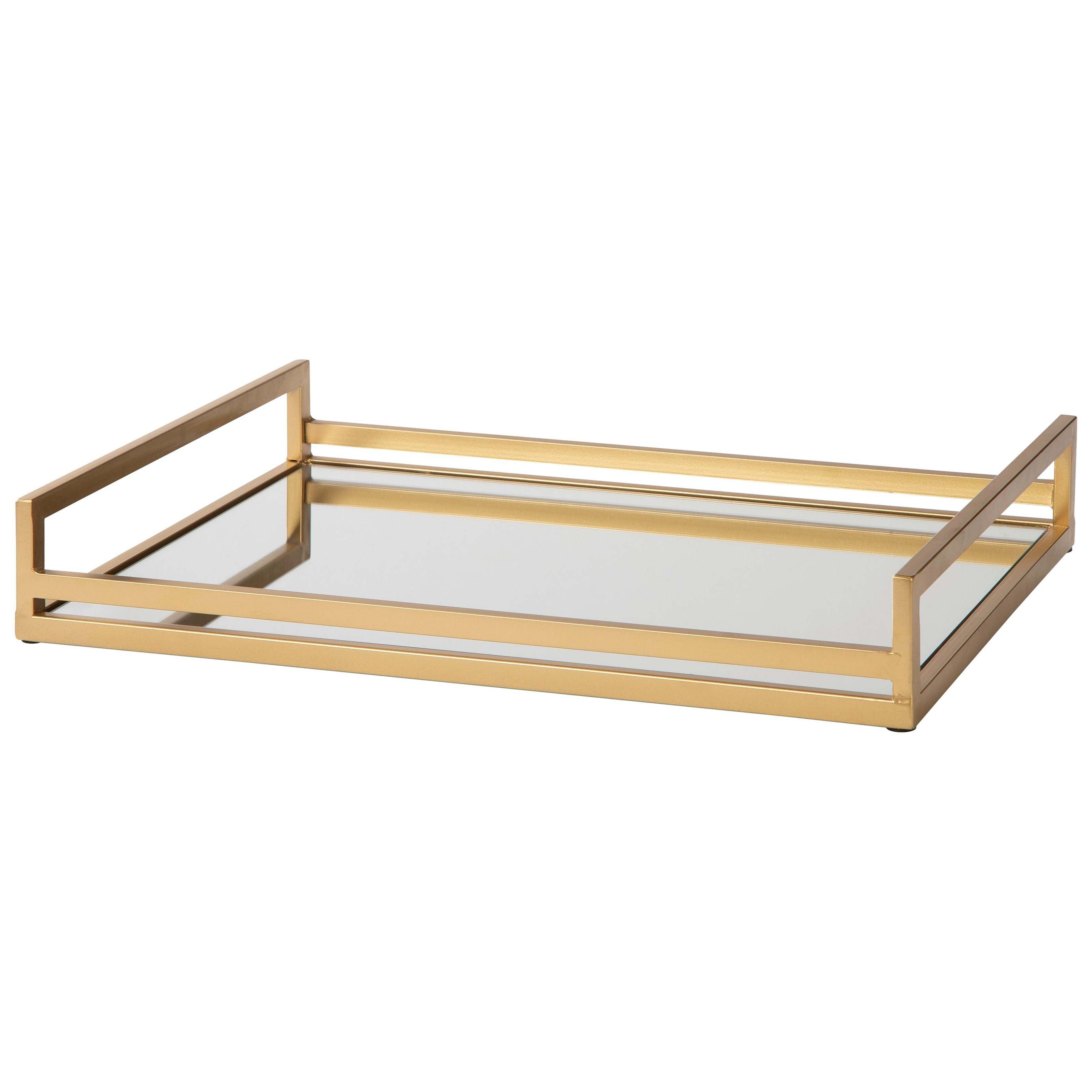 Accents Derex Gold Finish Tray by Signature Design by Ashley at Furniture Fair - North Carolina