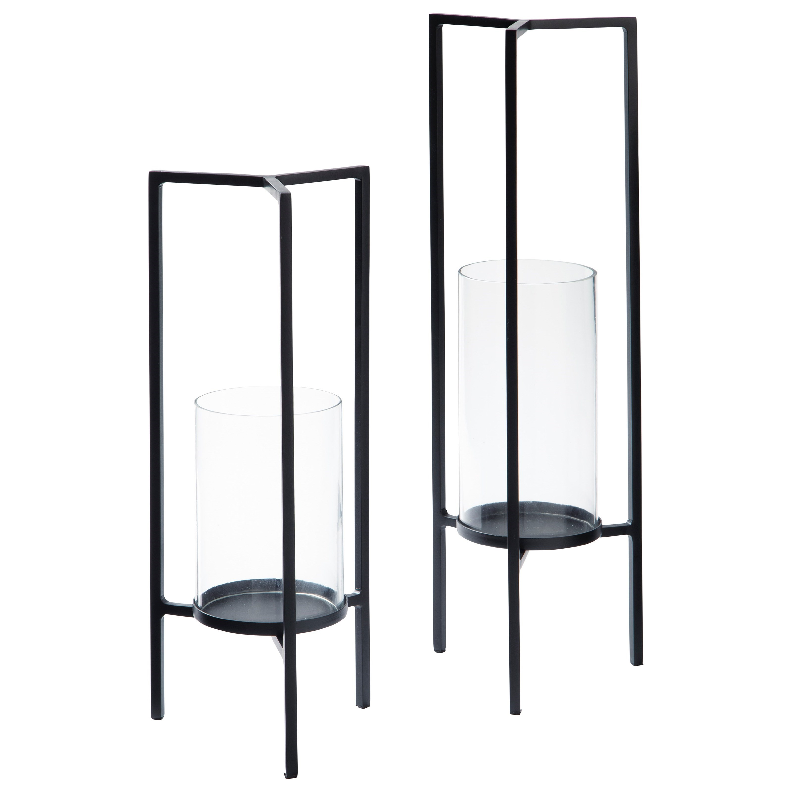 Accents Ginette Candle Holder (Set of 2) at Van Hill Furniture