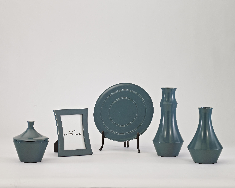 Accents Sirilla - Blue Accessory Set by Ashley Furniture Signature Design at Del Sol Furniture