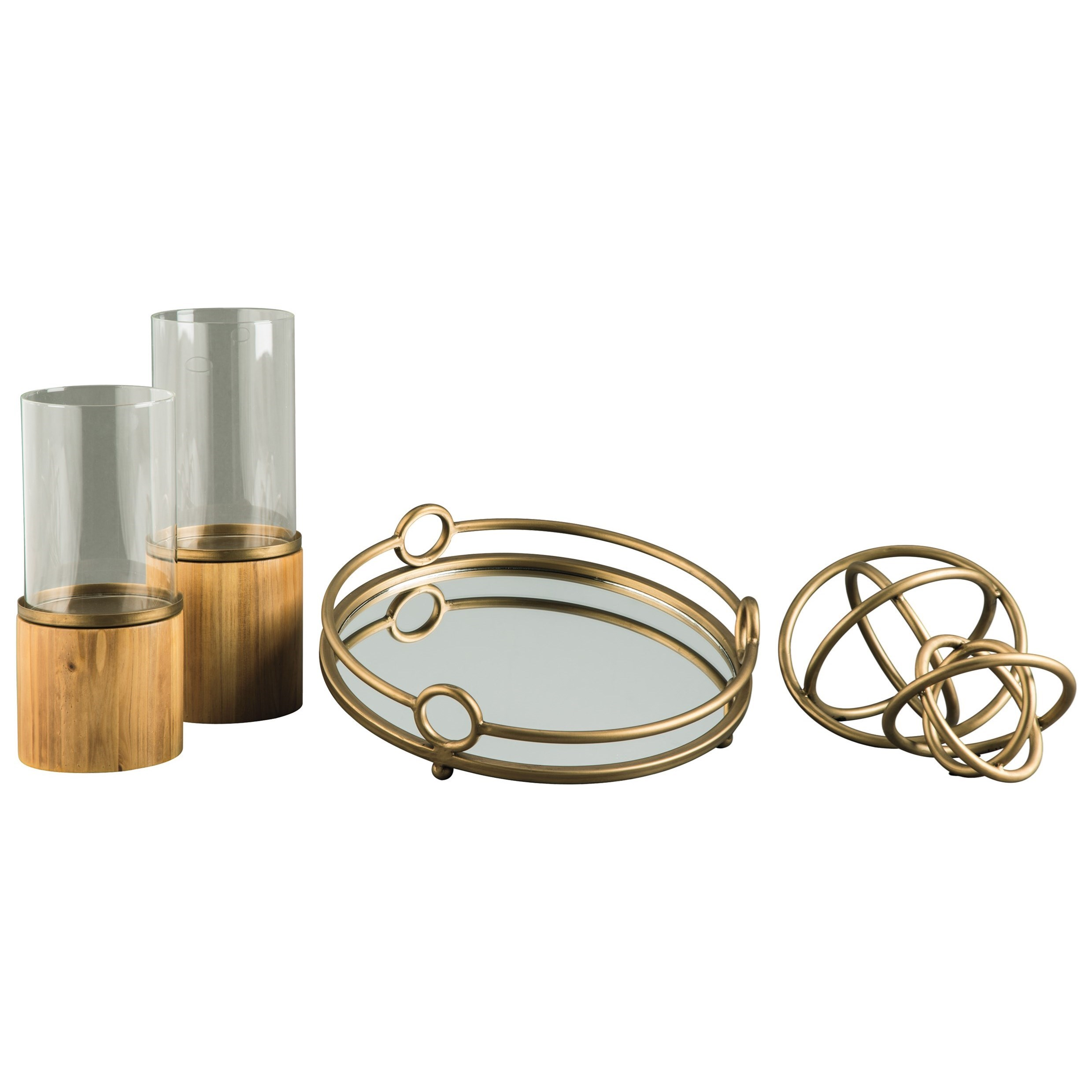 Accents Deserae Accessory Set by Ashley Furniture Signature Design at Del Sol Furniture