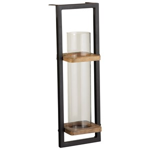 Colburn Natural/Black Wall Sconce