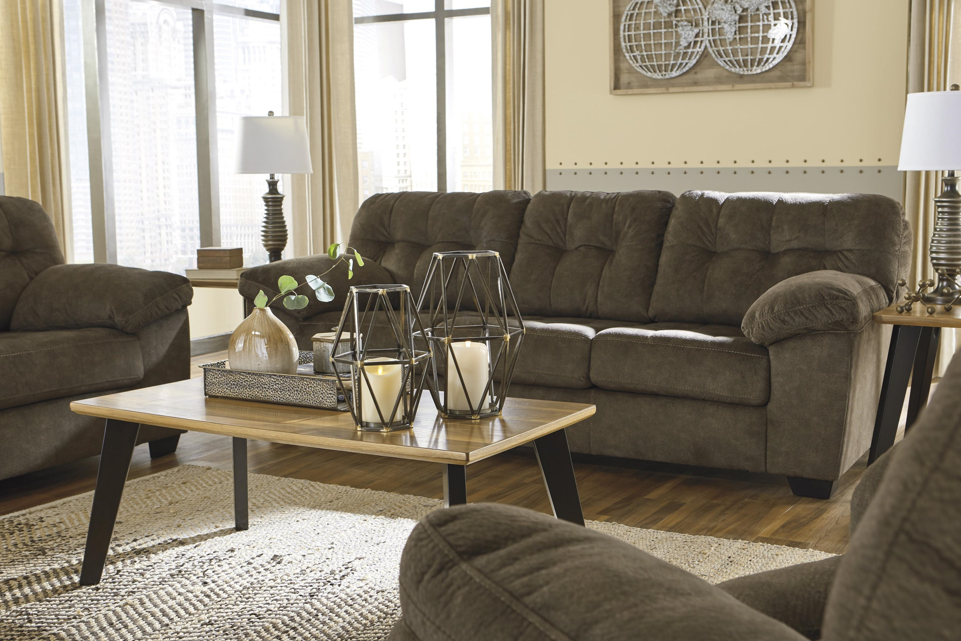 Accrington Sofa and Recliner Set by Signature Design by Ashley at Sam Levitz Outlet
