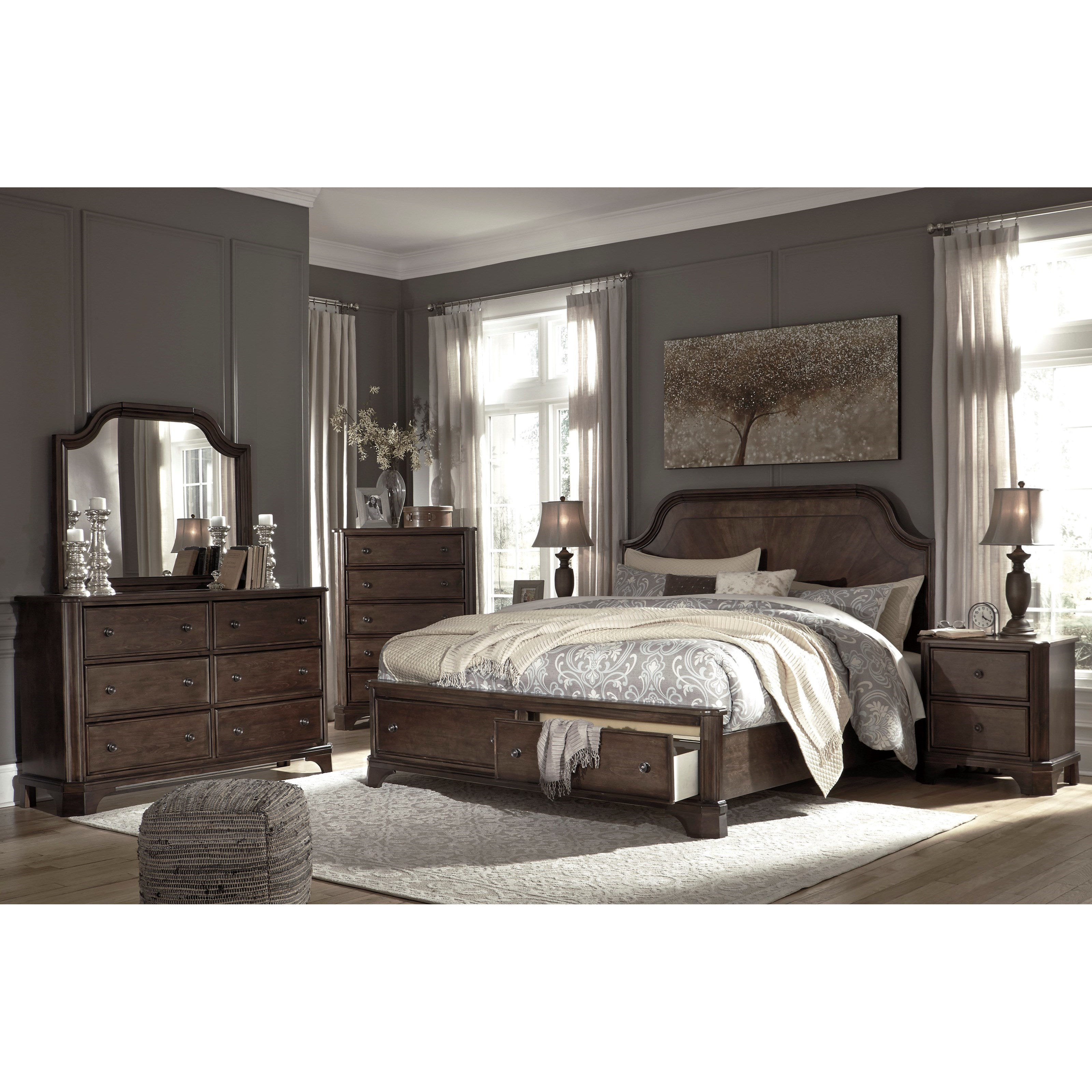 Adinton King Bedroom Group by Signature Design by Ashley at Suburban Furniture