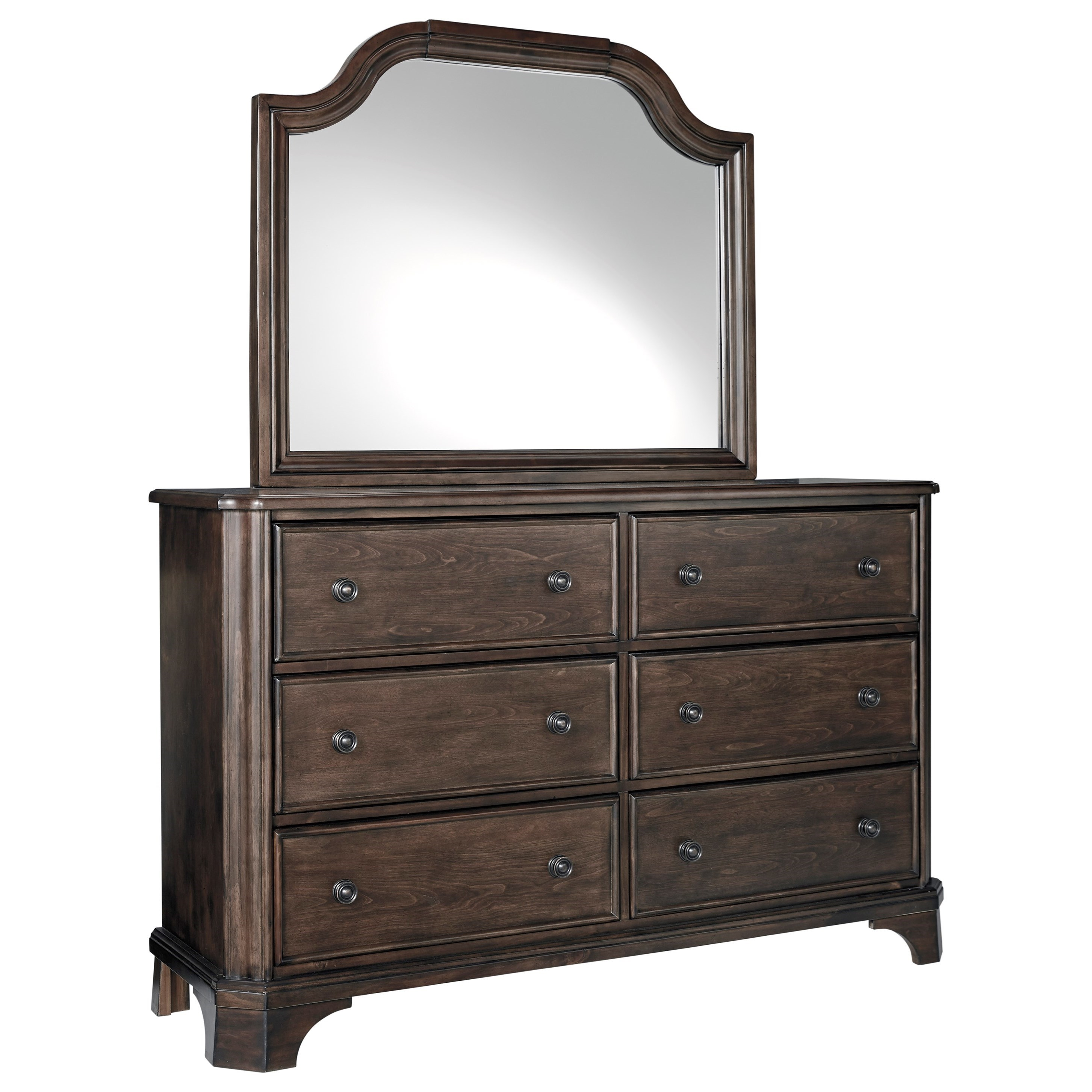 Adinton Dresser and Mirror Set by Signature Design by Ashley at Pilgrim Furniture City