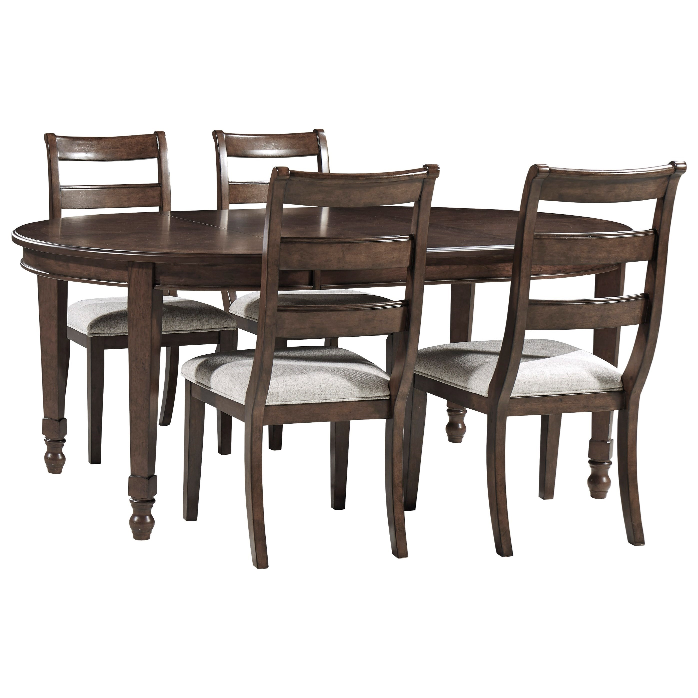 Adinton 5-Piece Table and Chair Set by Signature Design by Ashley at Sparks HomeStore