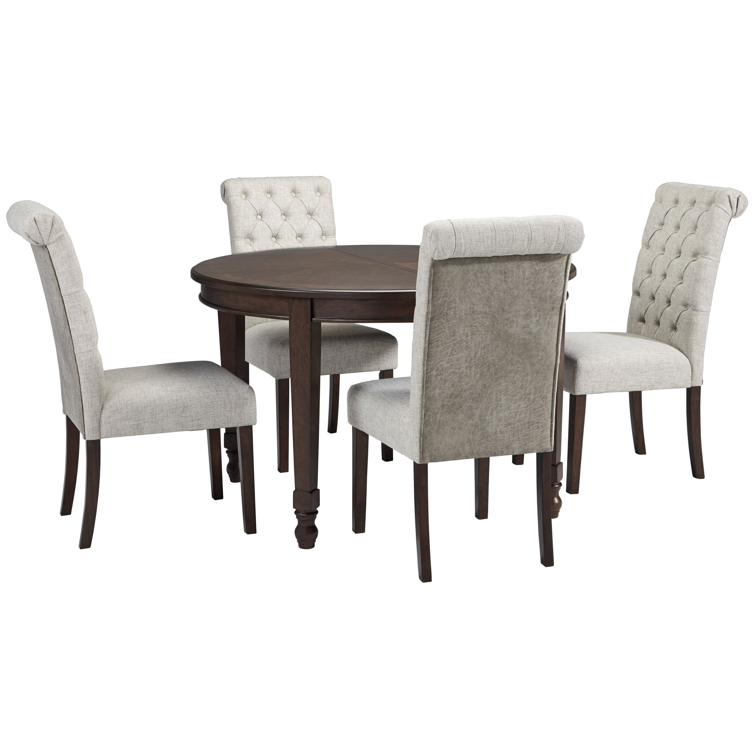 Adinton 5-Piece Table and Chair Set by Signature Design by Ashley at Houston's Yuma Furniture