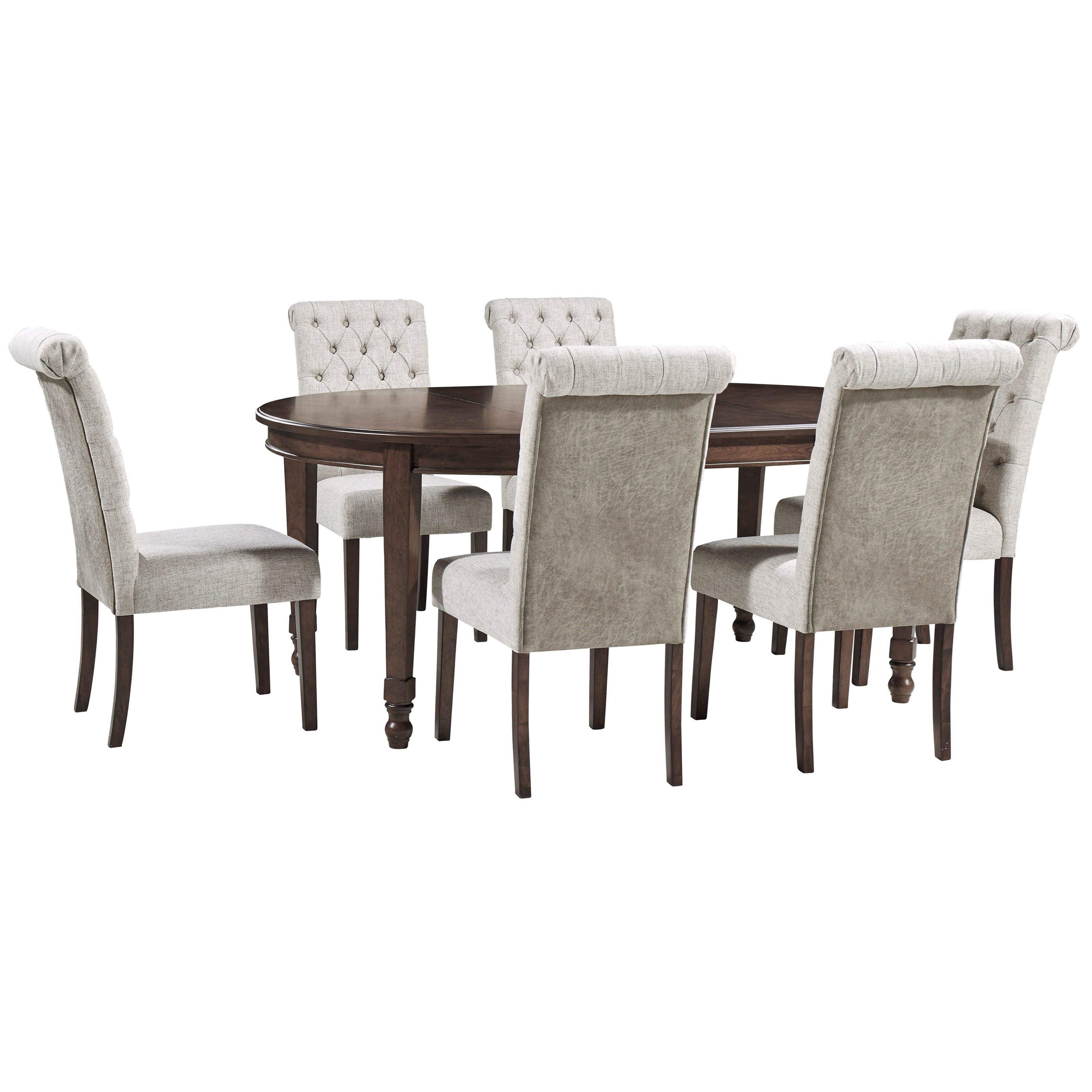 Adinton 7-Piece Table and Chair Set by Signature Design by Ashley at Northeast Factory Direct