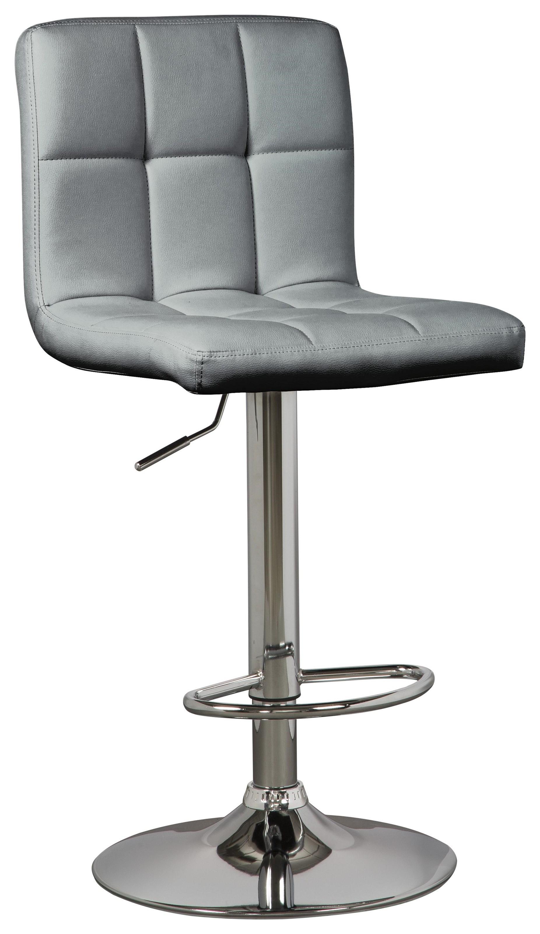 Bellatier Adjustable Bar Height Upholstered Swivel Bar by Signature Design by Ashley at Sam Levitz Furniture
