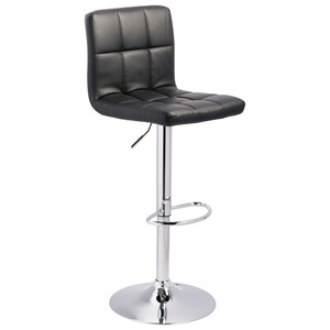 Signature Design by Ashley Adjustable Height Barstools Tall Upholstered Swivel Barstool