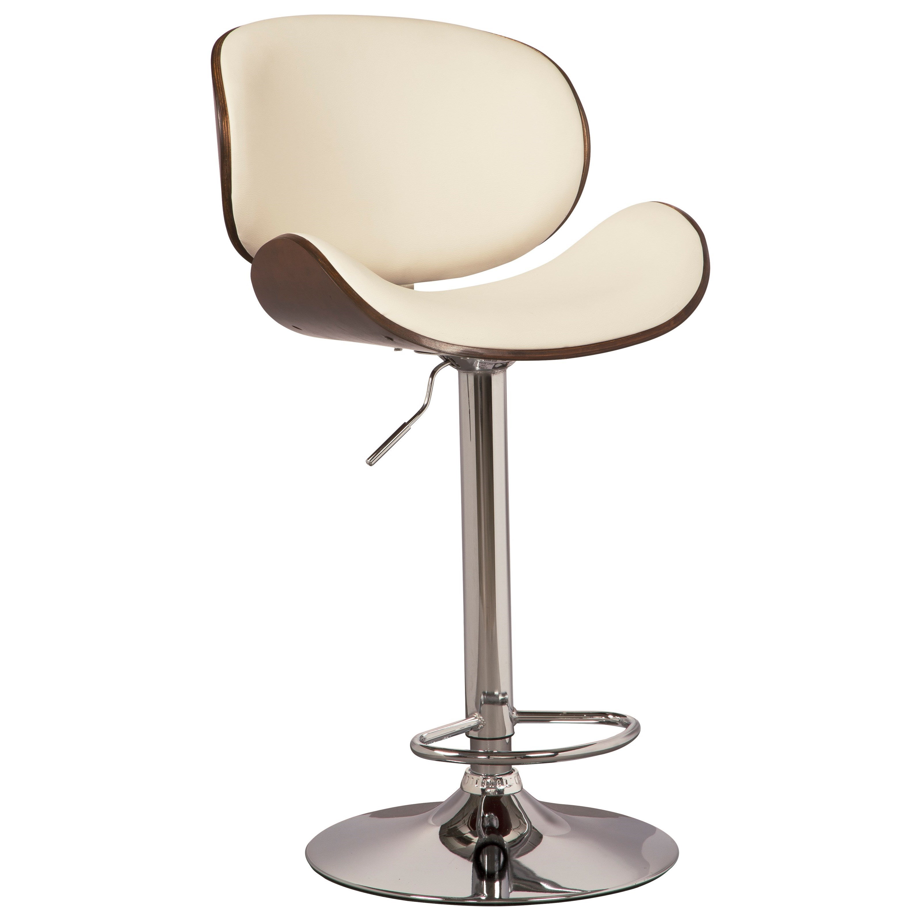 Bellatier Tall Upholstered Swivel Barstool at Ruby Gordon Home