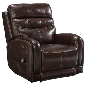 Casual Power Recliner with Power Head Rest