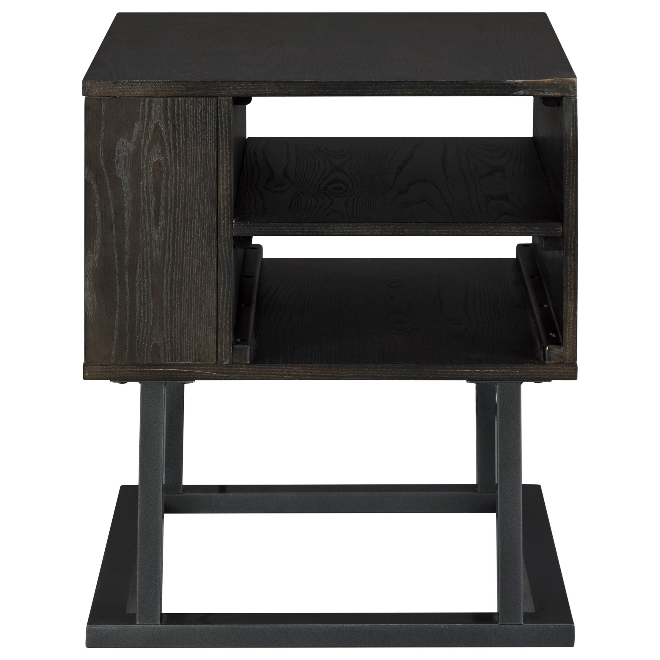Airdon Square End Table by Signature Design by Ashley at Simply Home by Lindy's