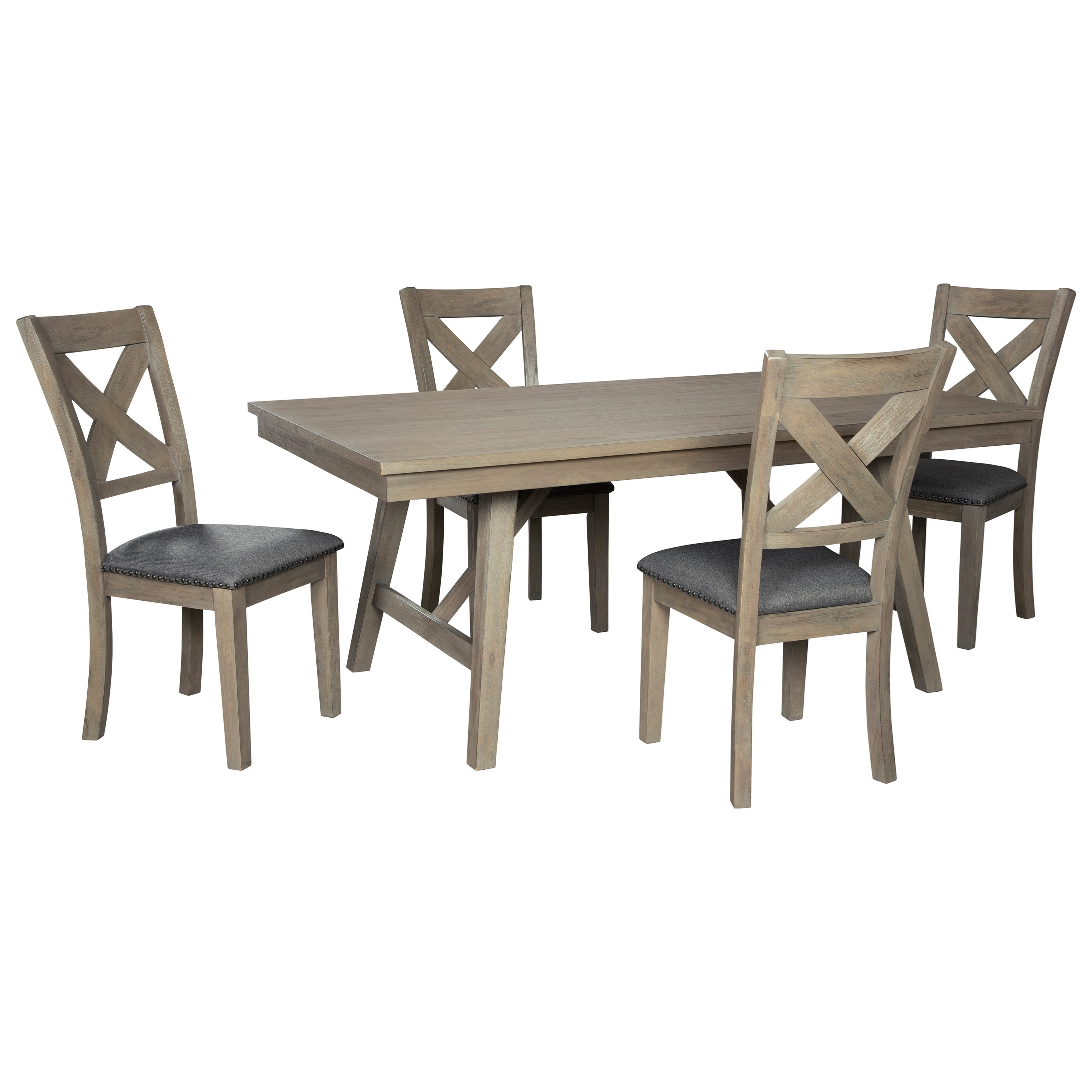 Aldwin 5-Piece Table and Chair Set by Signature Design by Ashley at Value City Furniture