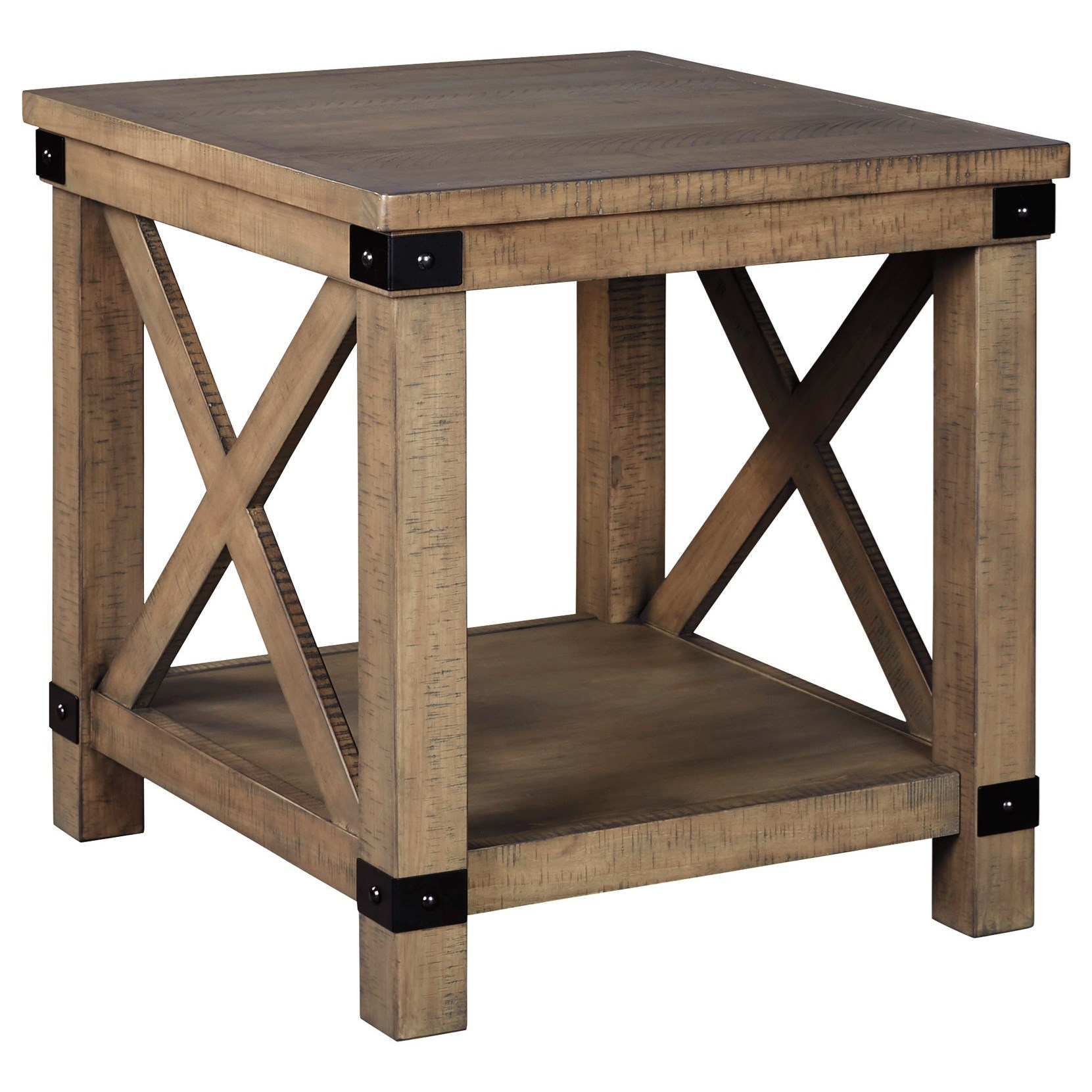 Aldwin Rectangular End Table by Benchcraft at Virginia Furniture Market