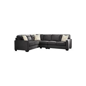 3-Piece Sectional with Right Loveseat