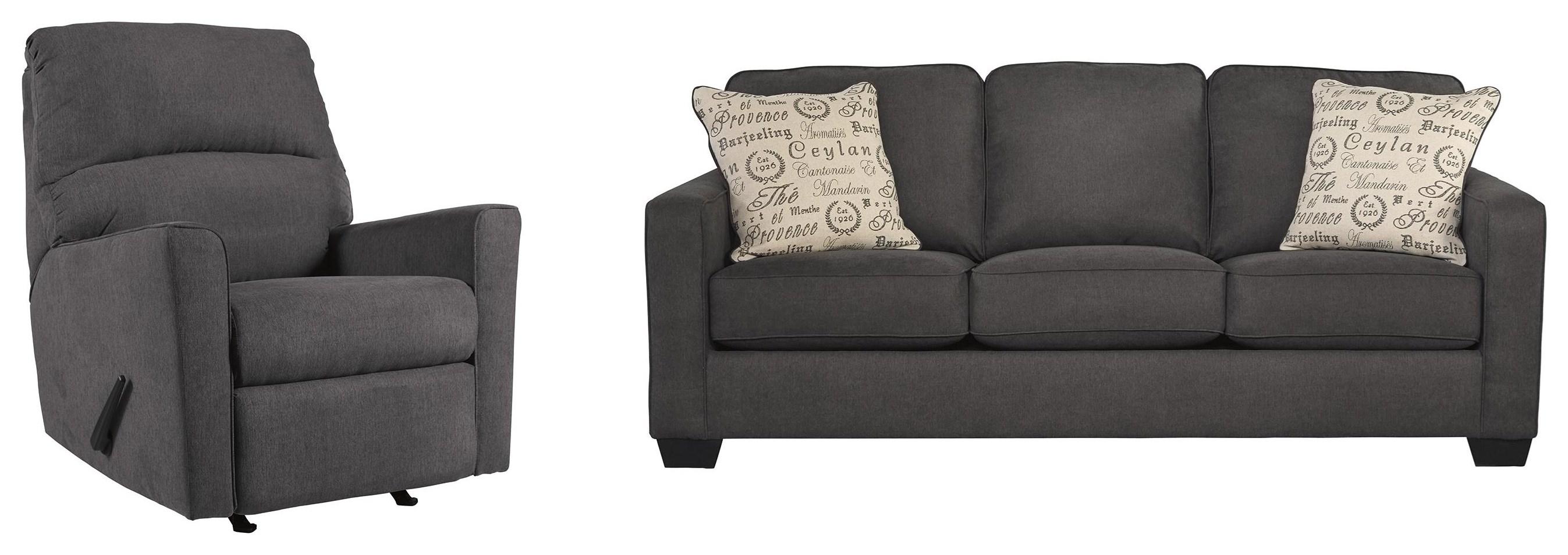 Sofa and Recliner Set