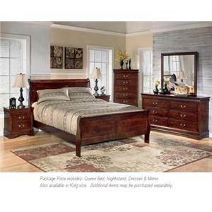 4PC Queen Bedroom