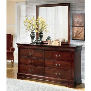 Traditional Dresser & Mirror