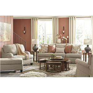 Wheat Sofa, Chair and Swivel Chair Set