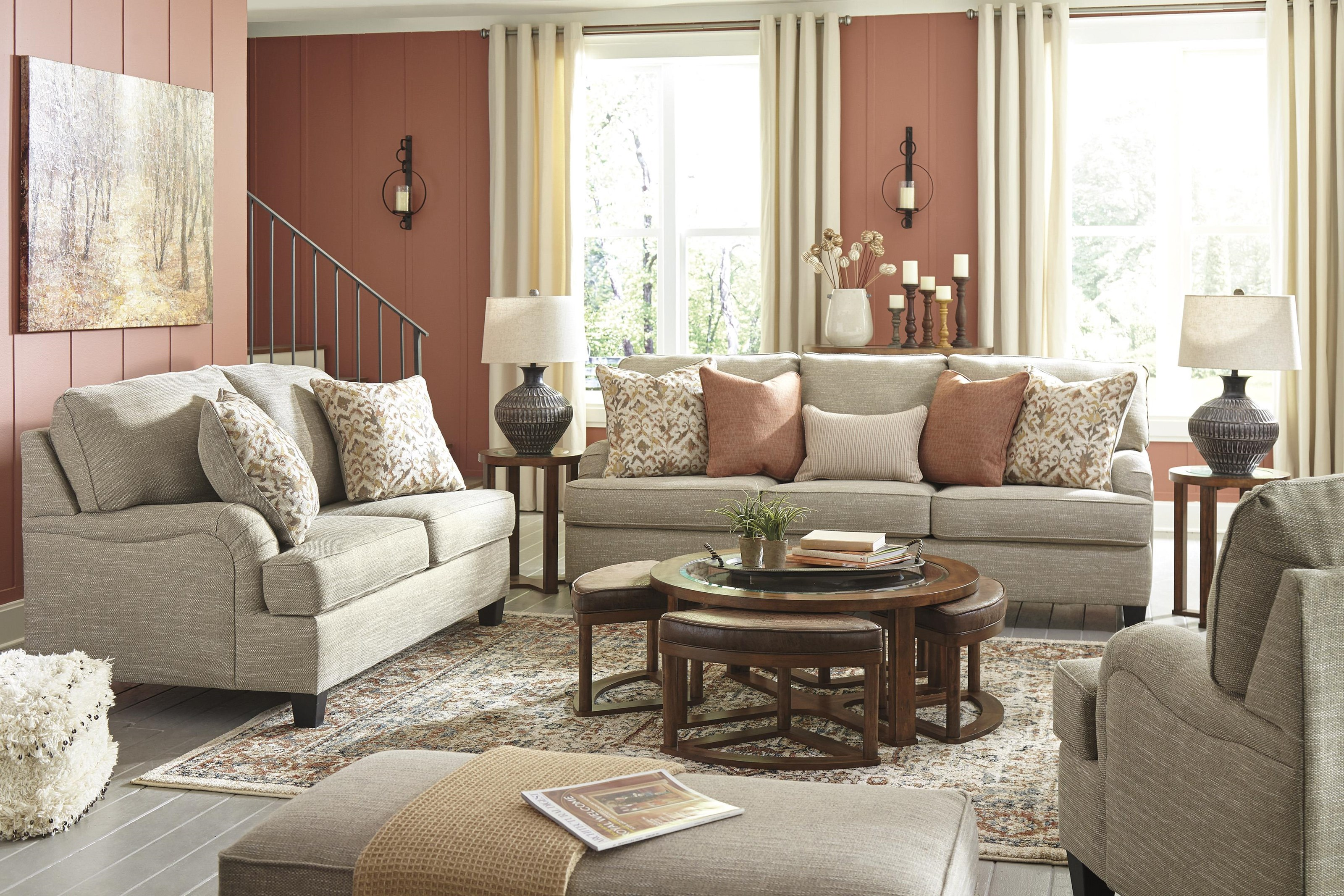 Almanza Sofa, Loveseat and Chair Set by Signature Design by Ashley at Sam Levitz Outlet