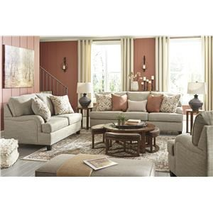 Wheat Sofa, Loveseat and Chair Set