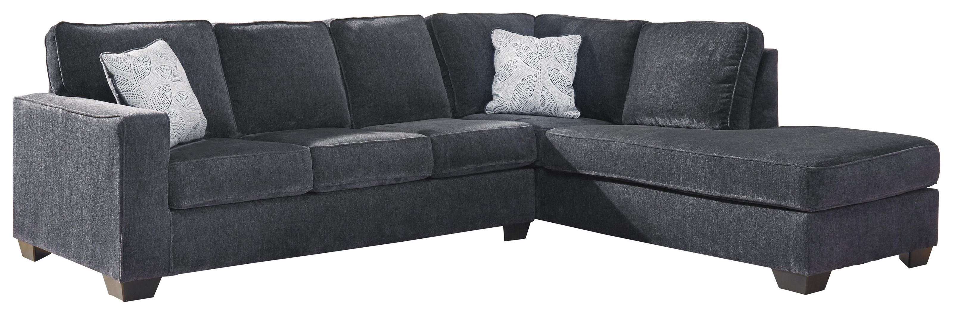 2 PC Sectional and Chair Set