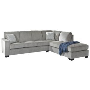 2 Piece Left Arm Facing Sofa, Right Arm Facing Chaise Sectional and Chair Set