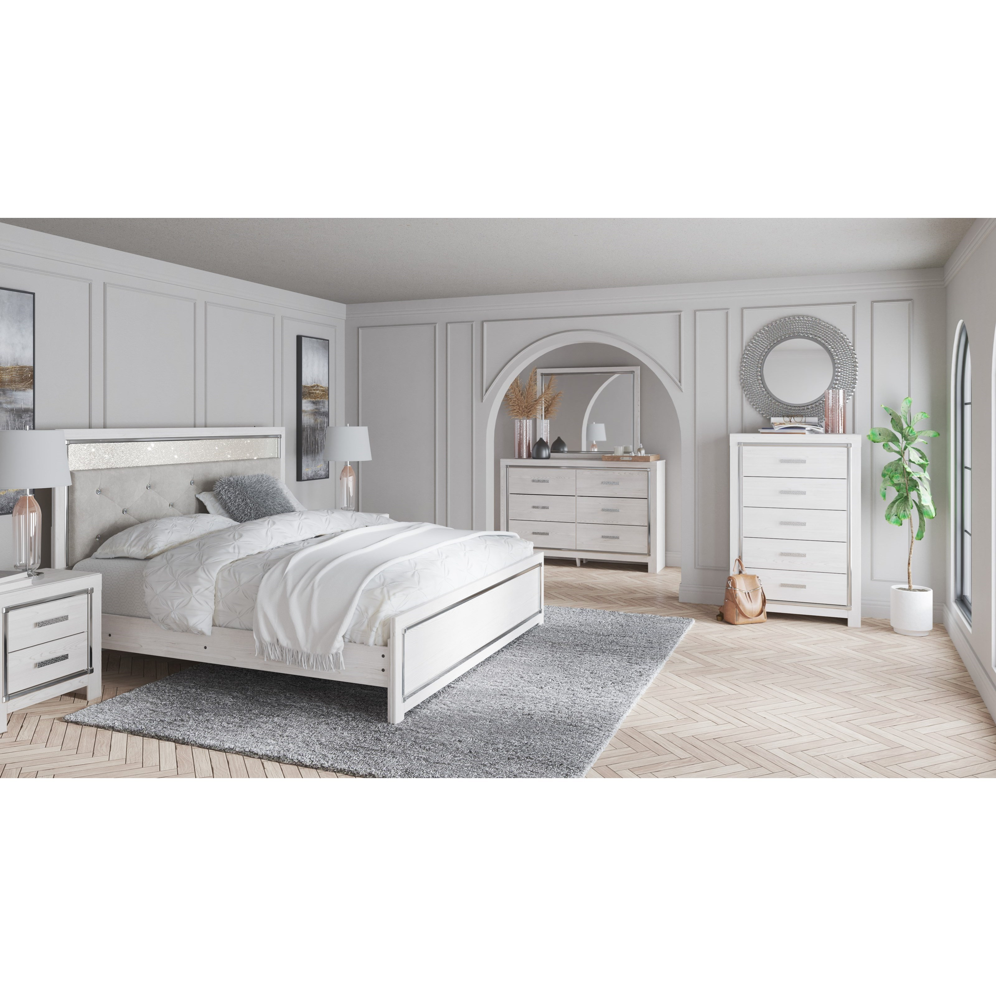 Altyra King Bedroom Group by Signature Design by Ashley at Simply Home by Lindy's