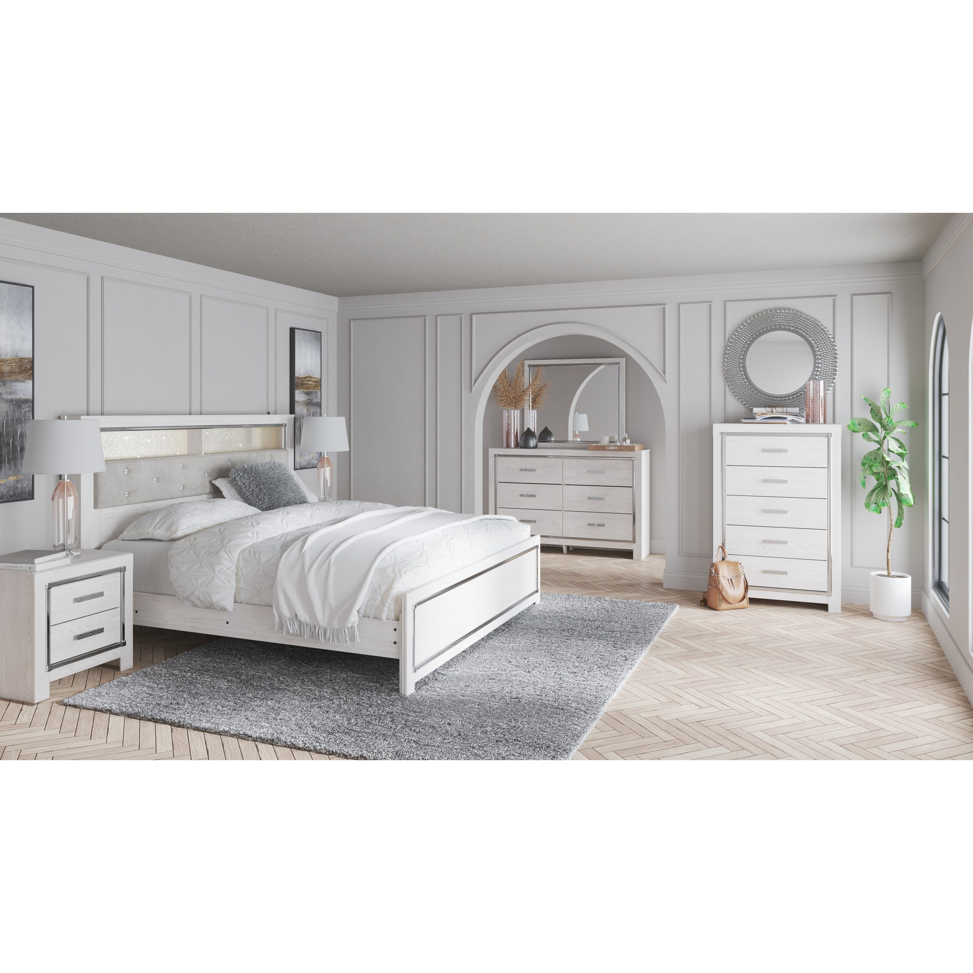 Altyra King Bedroom Group by Ashley (Signature Design) at Johnny Janosik