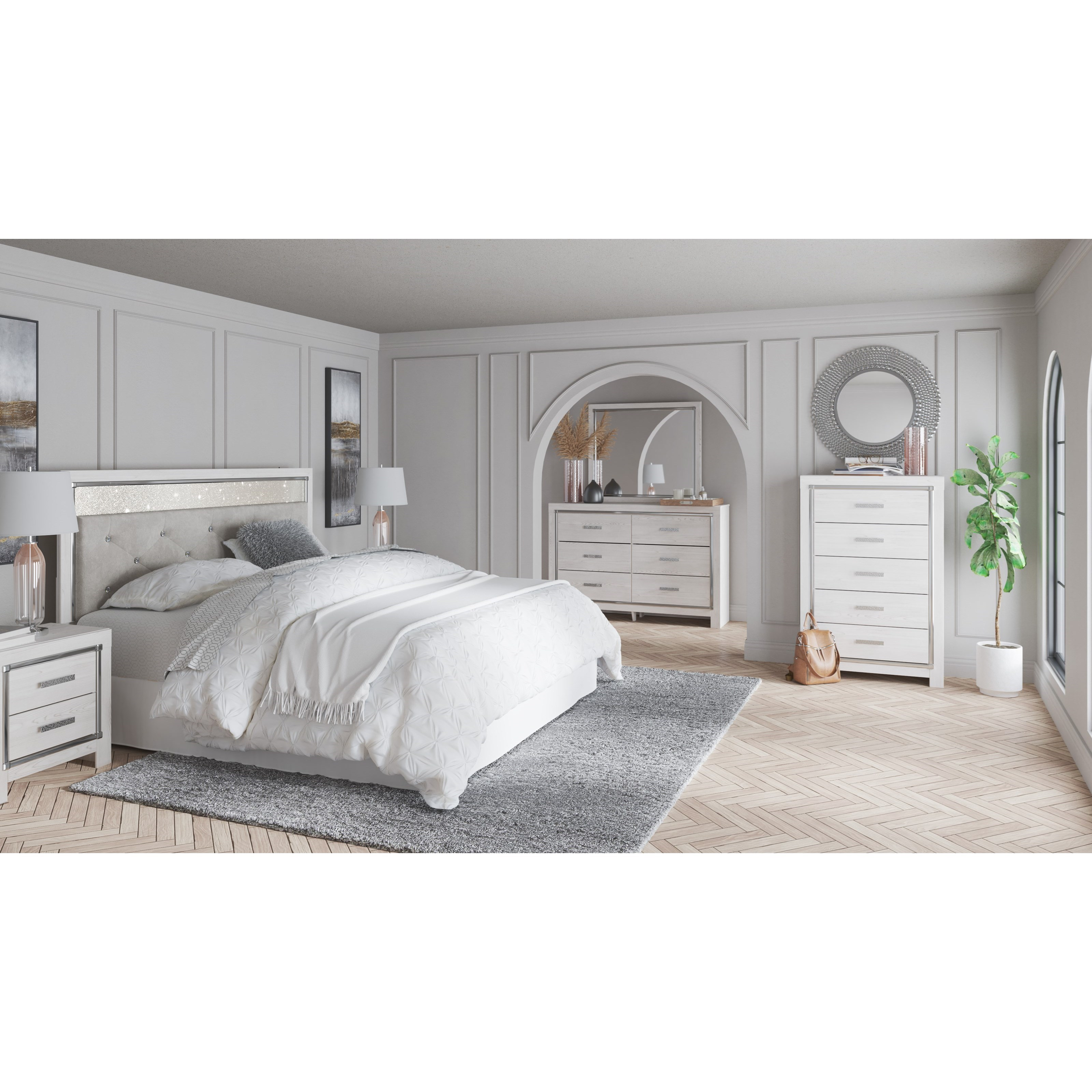 Altyra King Bedroom Group by Signature Design by Ashley at Sparks HomeStore