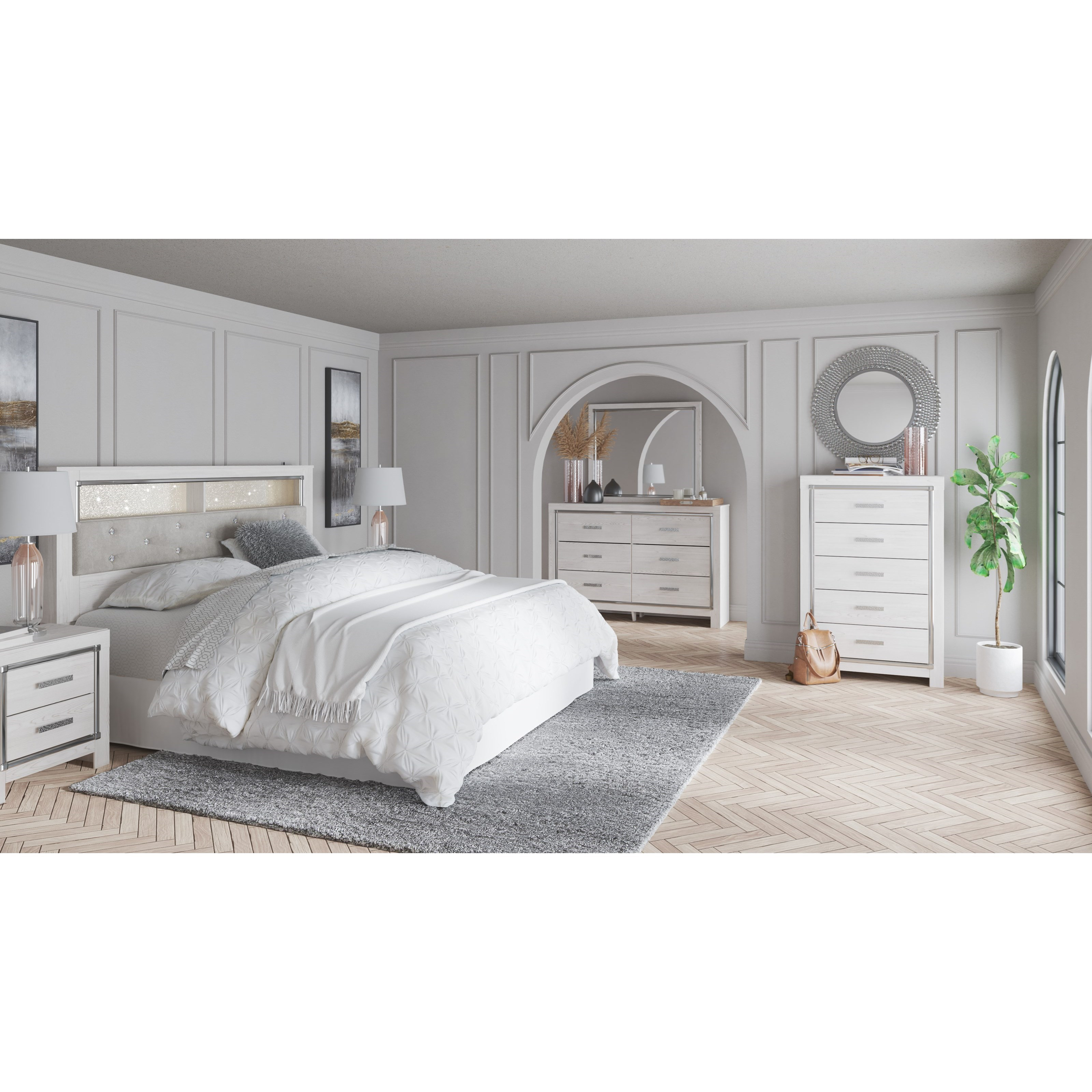 Altyra King Bedroom Group by Signature Design by Ashley at Catalog Outlet