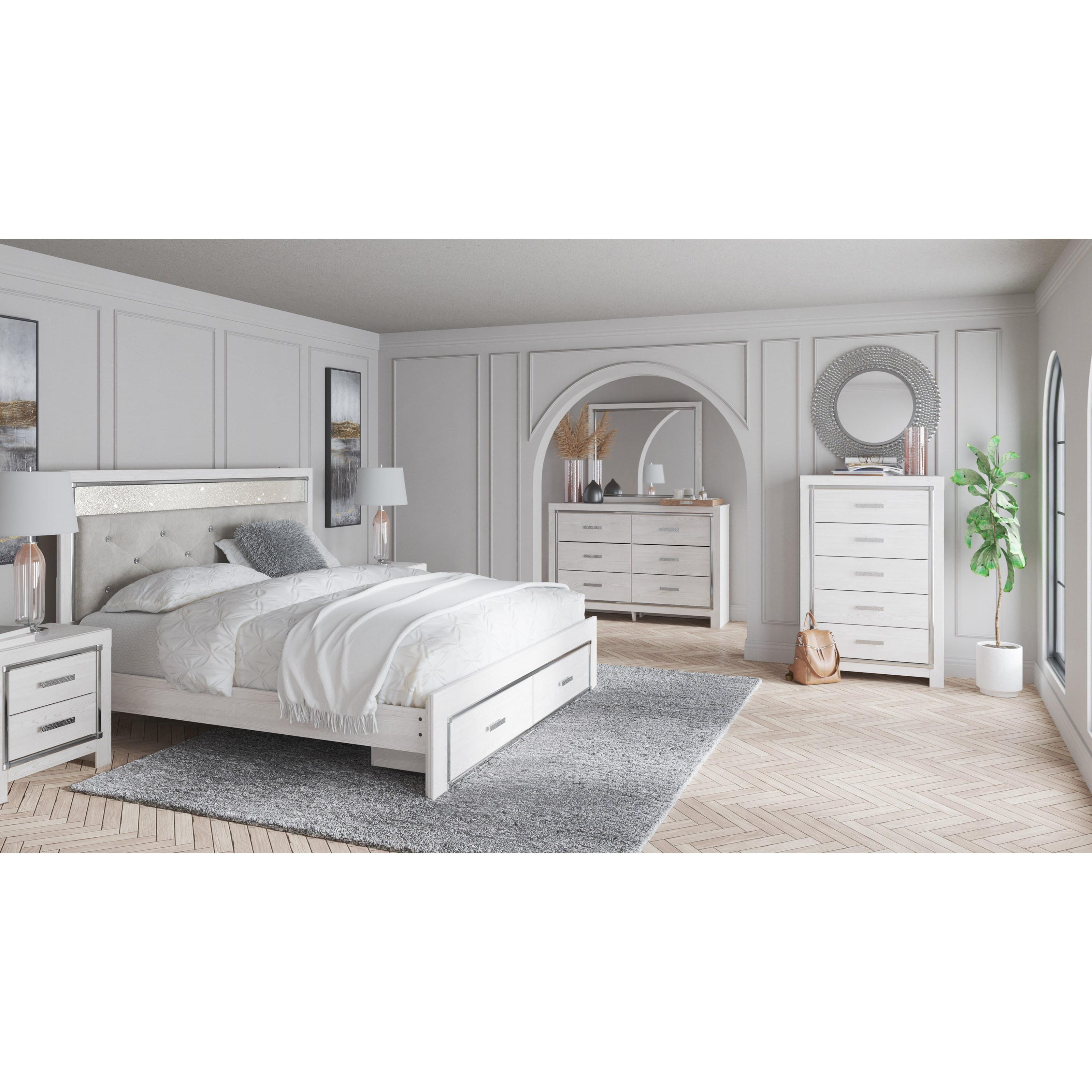 Altyra King Bedroom Group by Signature Design by Ashley at Standard Furniture