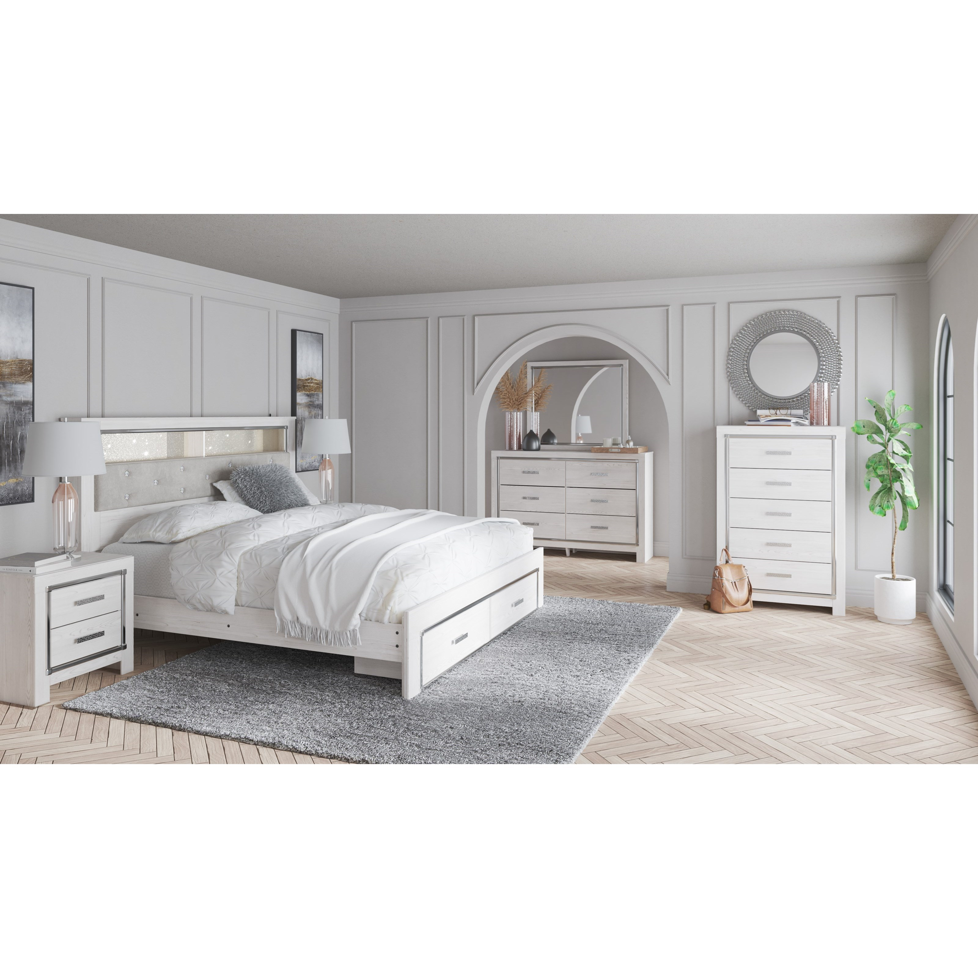Altyra King Bedroom Group by StyleLine at EFO Furniture Outlet