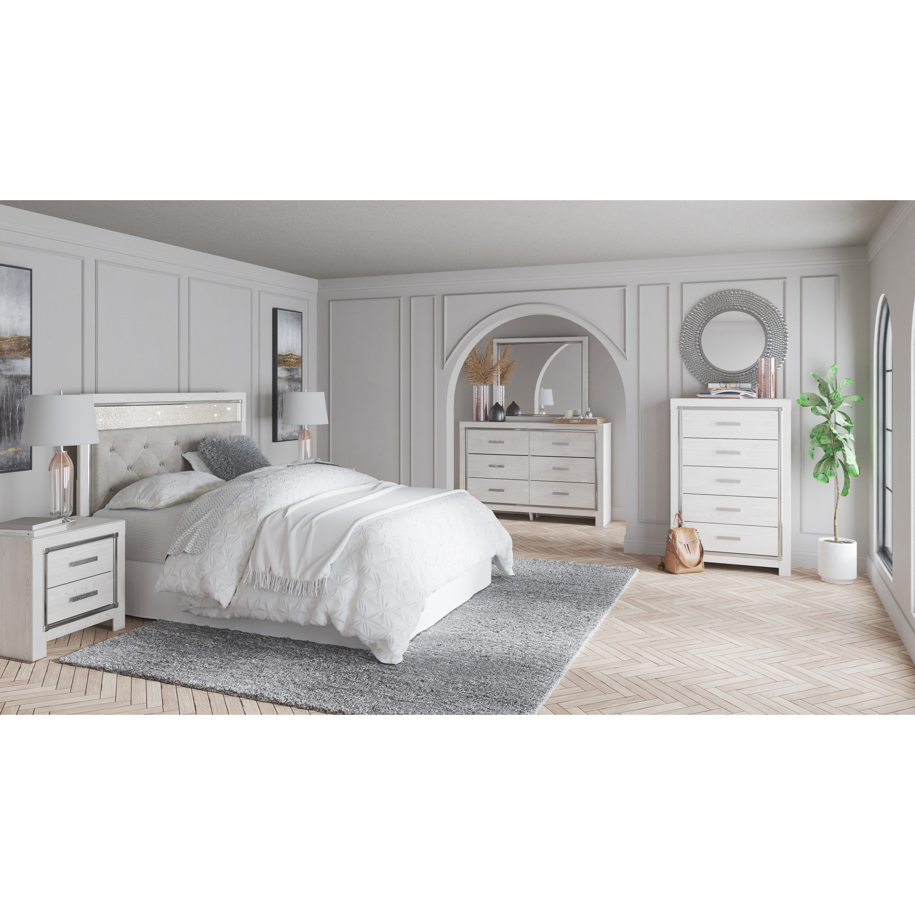 Altyra Queen Bedroom Group at Van Hill Furniture