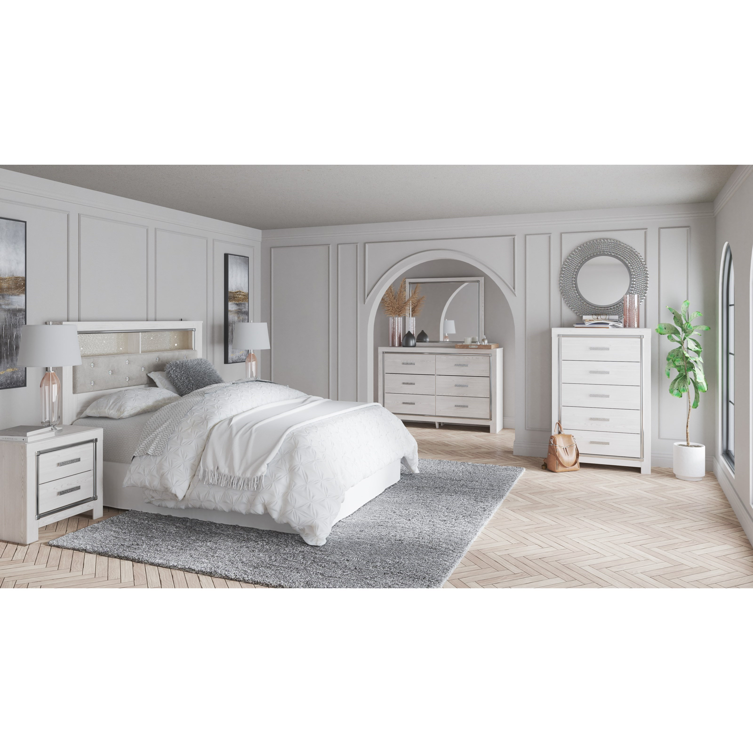 Altyra Queen Bedroom Group by Signature Design by Ashley at Household Furniture