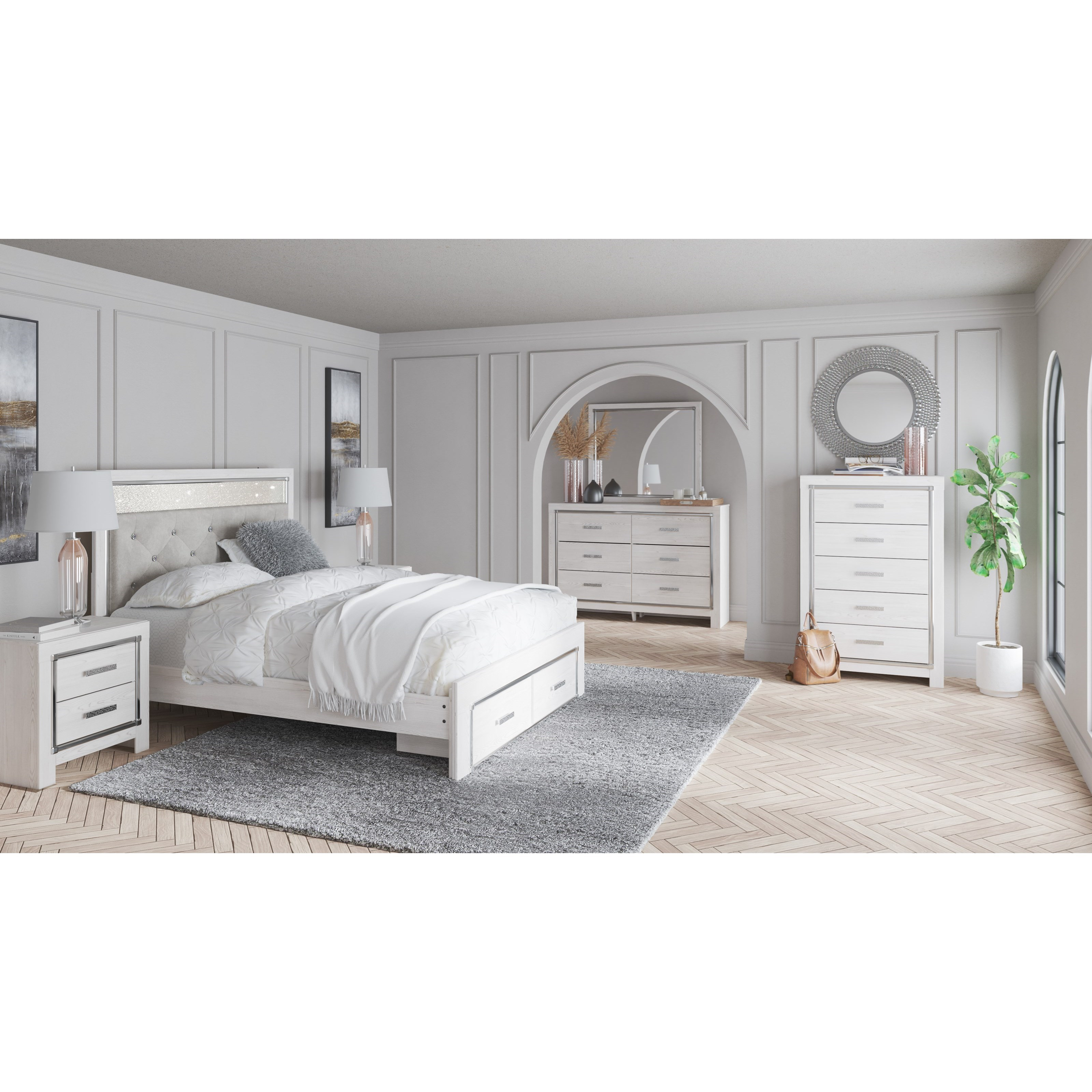 Altyra Queen Bedroom Group by Signature Design by Ashley at Northeast Factory Direct