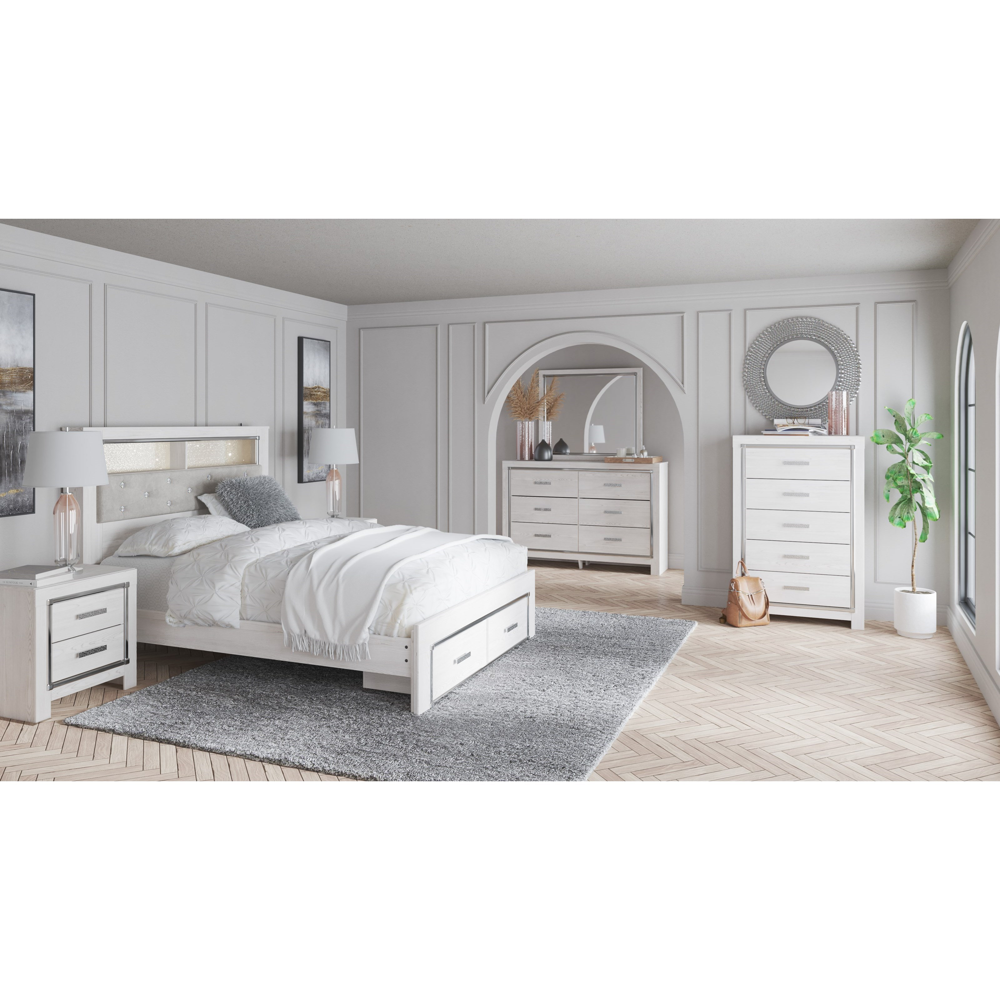 Altyra Queen Bedroom Group by Signature Design by Ashley at Catalog Outlet
