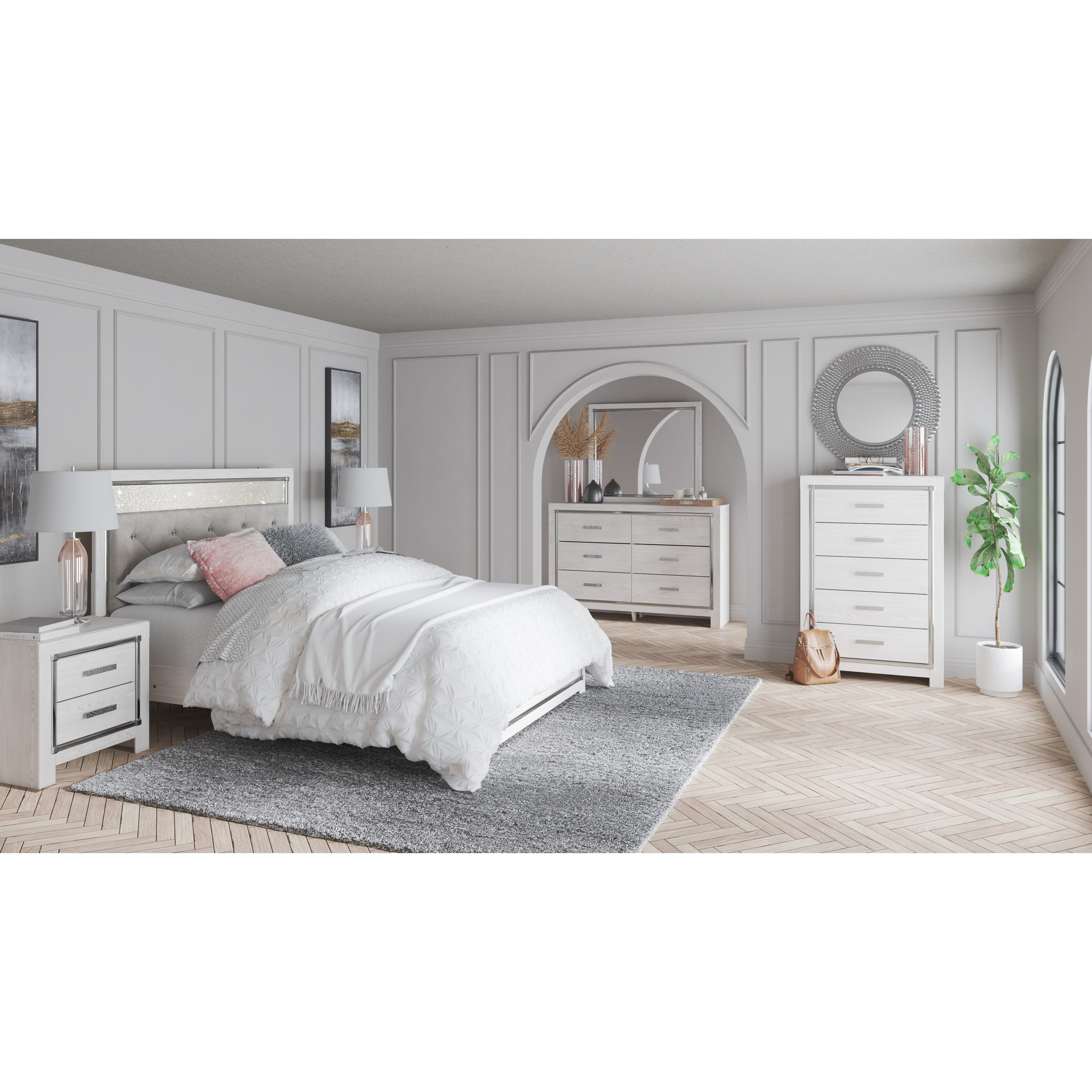Altyra Full Bedroom Group by Ashley (Signature Design) at Johnny Janosik