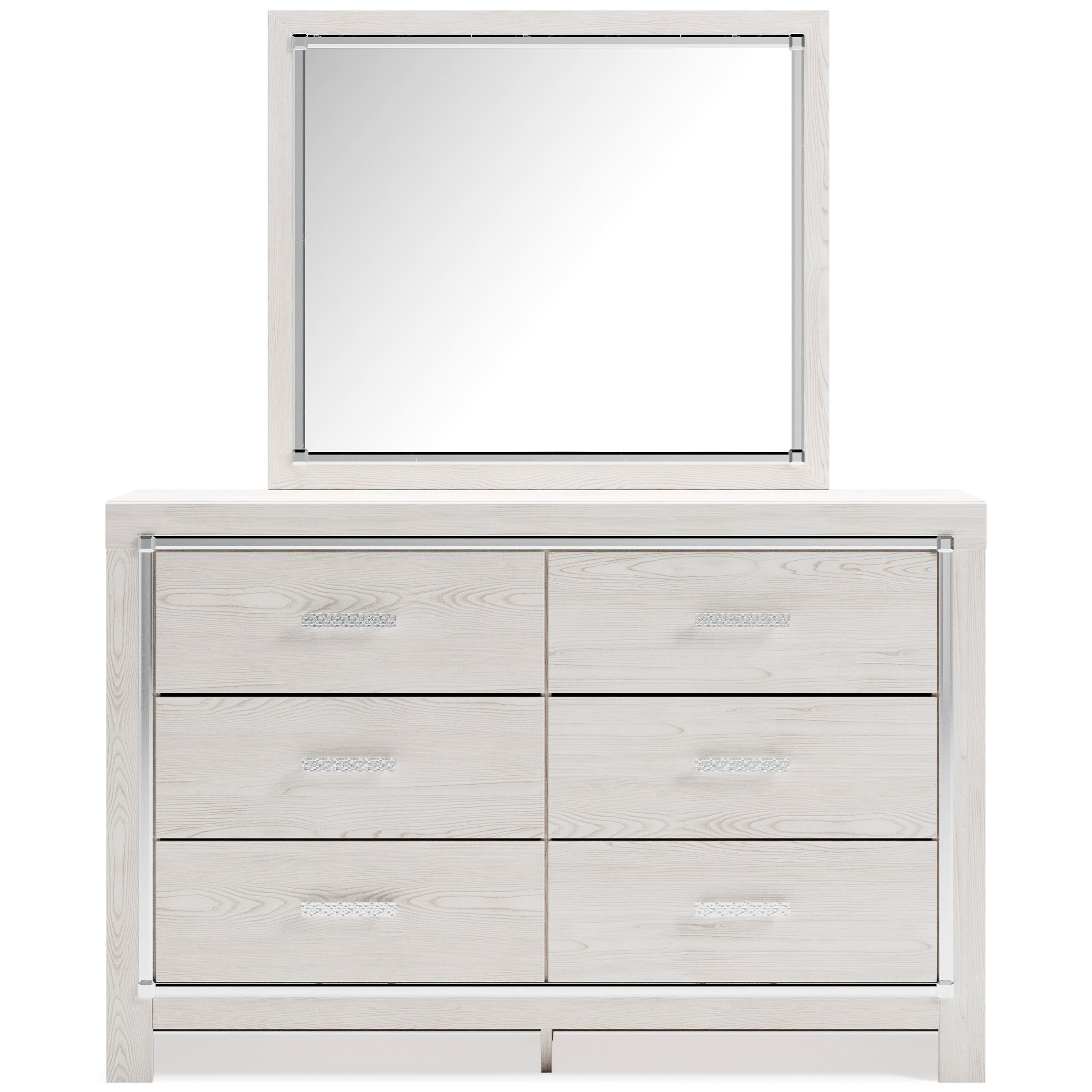 Altyra Dresser & Bedroom Mirror by Signature Design by Ashley at Furniture and ApplianceMart
