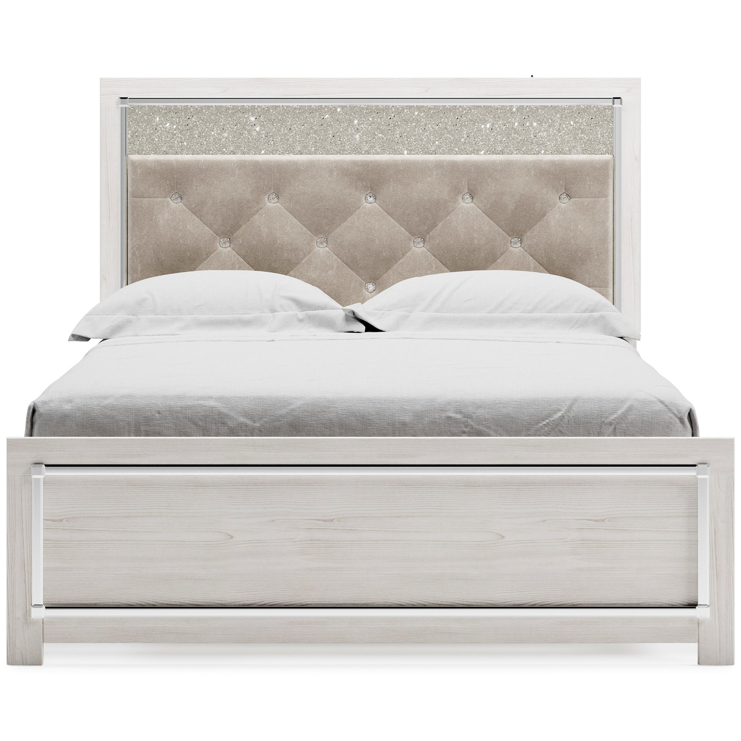 Altyra Queen Upholstered Panel Bed by Signature Design by Ashley at Smart Buy Furniture