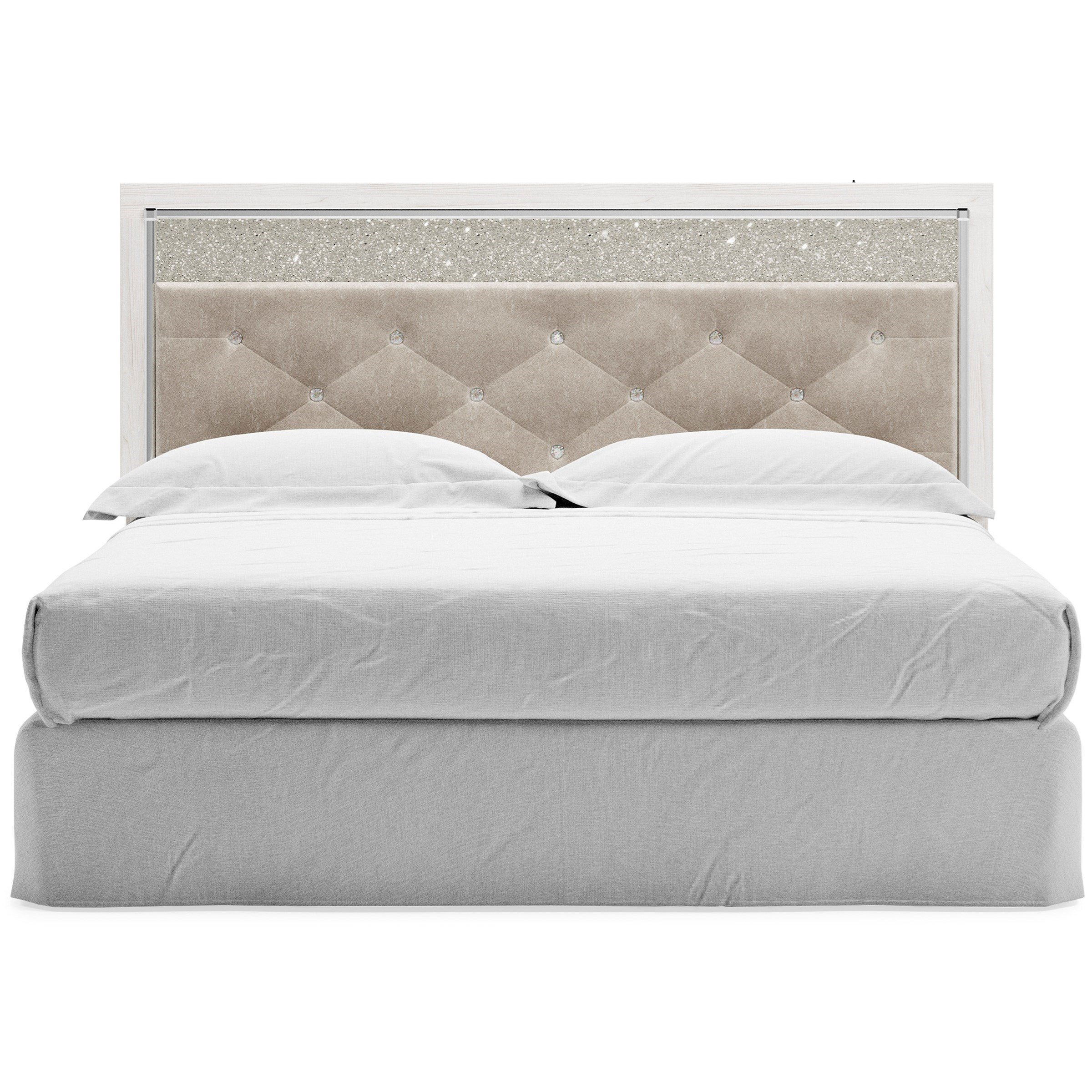 Altyra King/Cal King Upholstered Panel Headboard by Ashley (Signature Design) at Johnny Janosik
