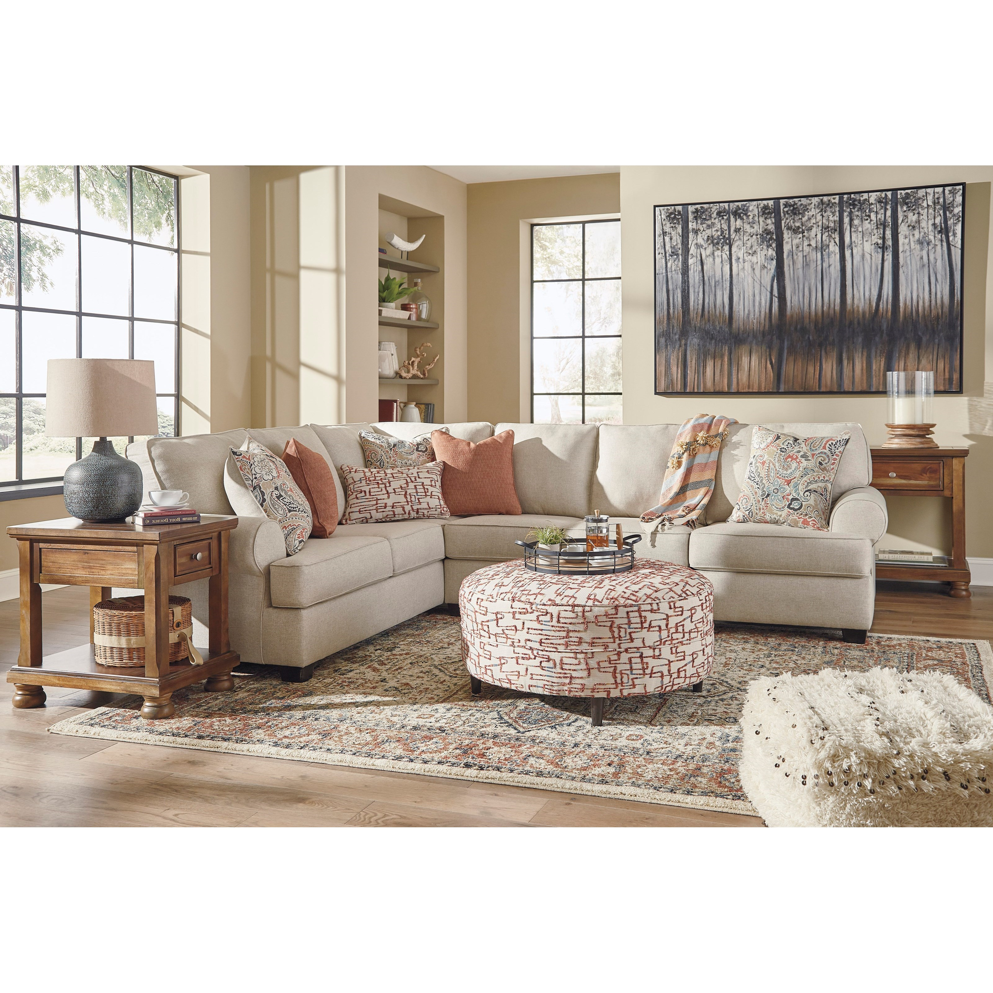 Amici Living Room Group by Signature Design by Ashley at Zak's Warehouse Clearance Center