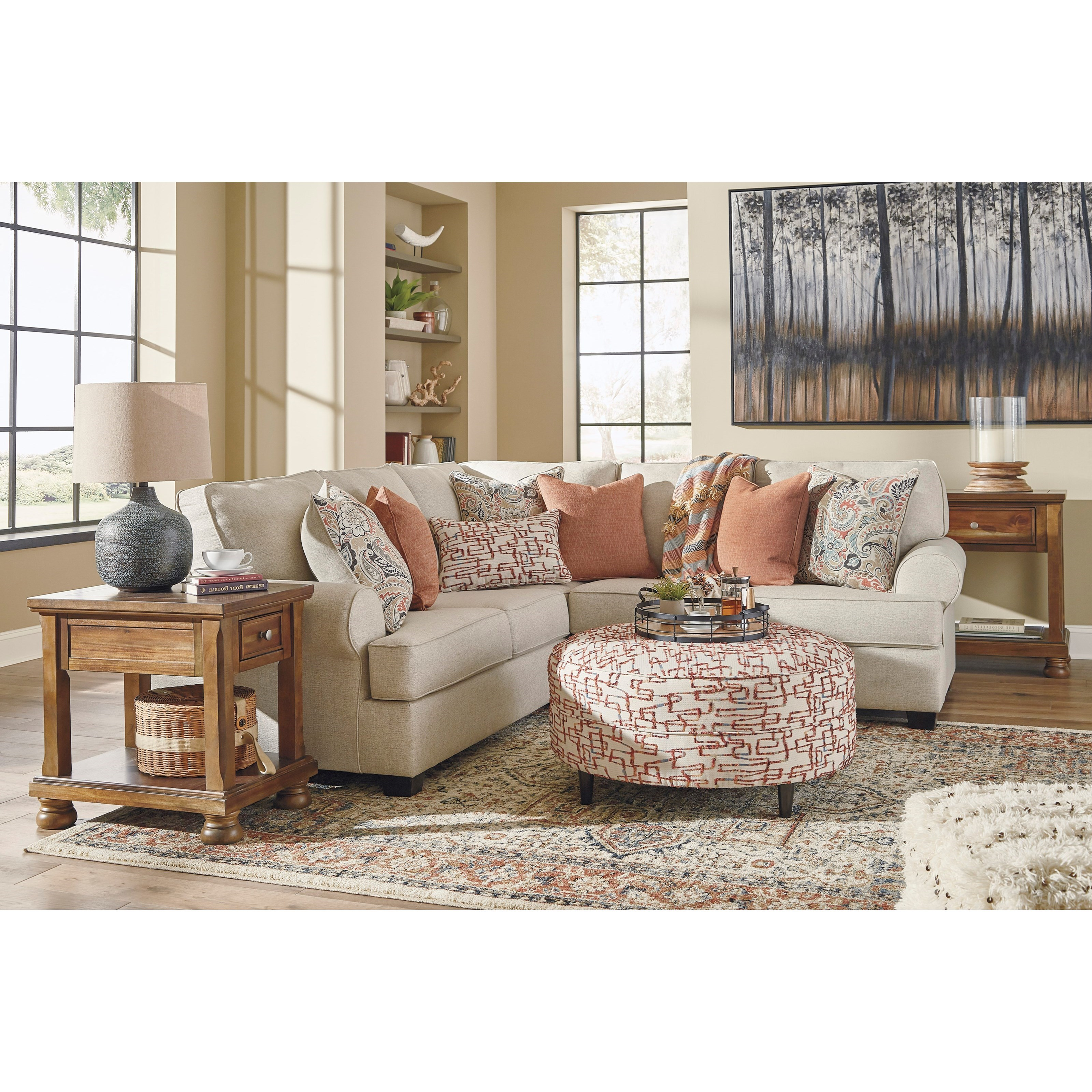 Amici Living Room Group by Signature Design by Ashley at Catalog Outlet