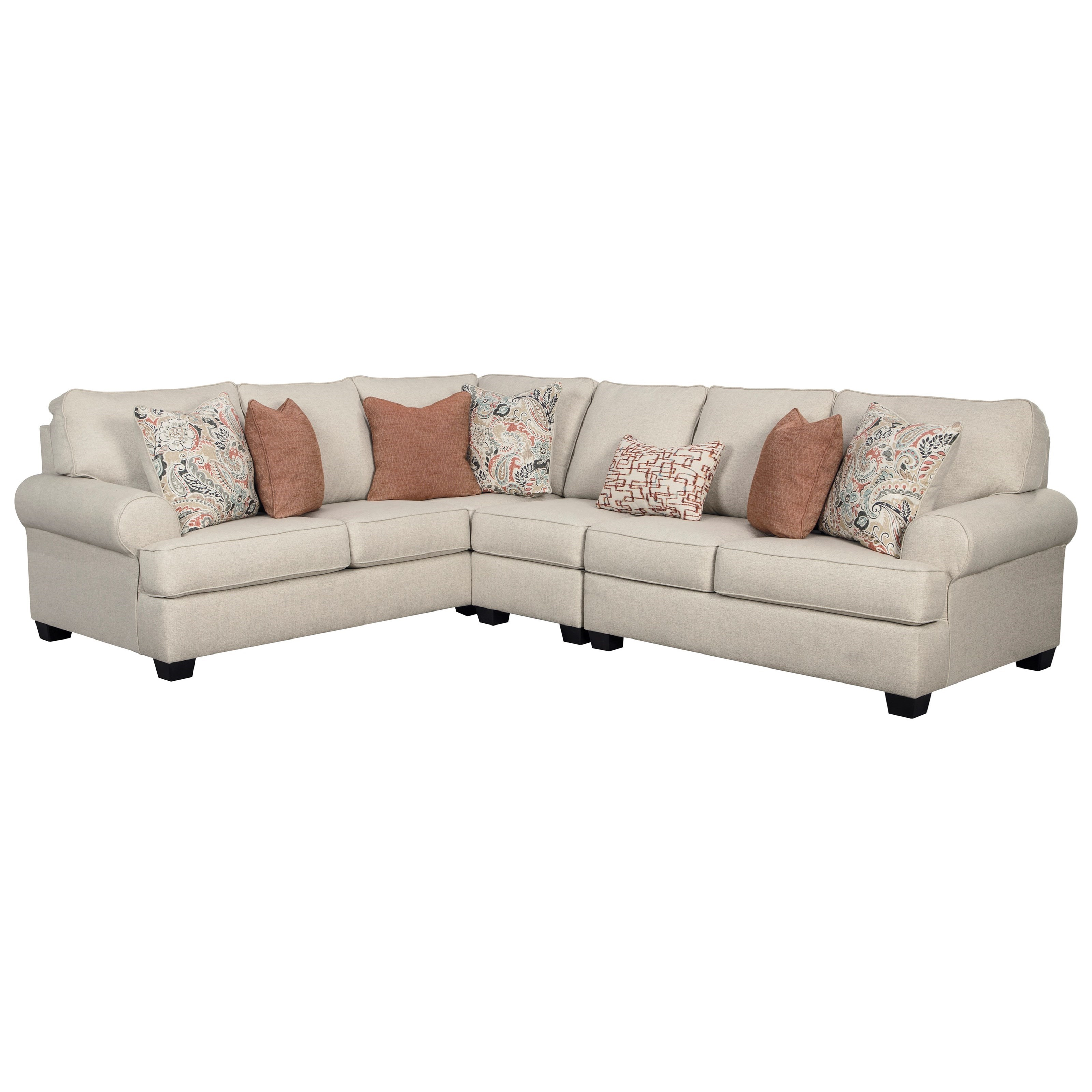 Amici 3-Piece Sectional by Ashley (Signature Design) at Johnny Janosik