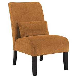 Signature Design by Ashley Annora - Orange Accent Chair
